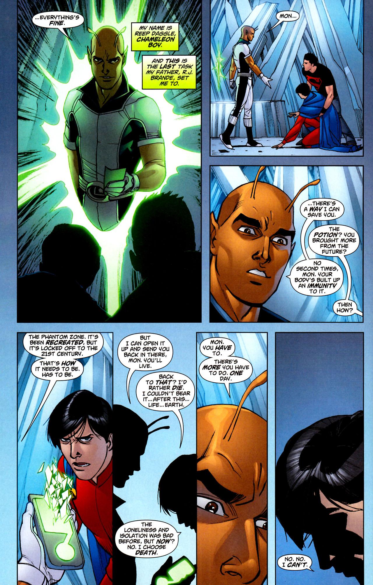 Read online Adventure Comics (2009) comic -  Issue #11 - 23