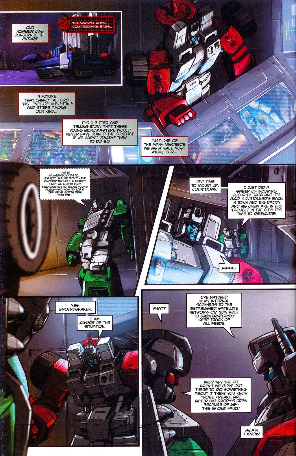 Read online Transformers: Micromasters comic -  Issue #3 - 8