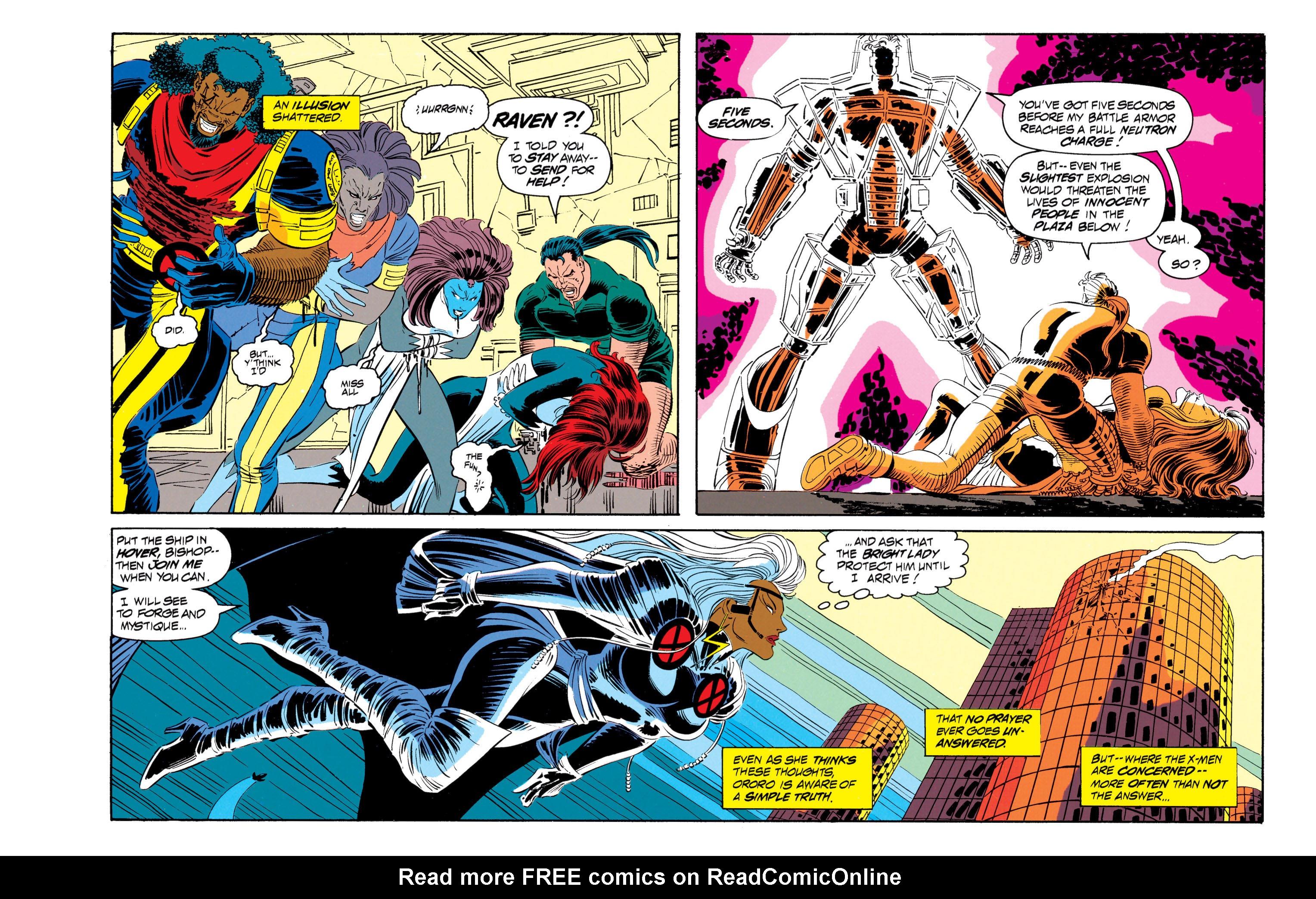 Read online Uncanny X-Men (1963) comic -  Issue #301 - 20