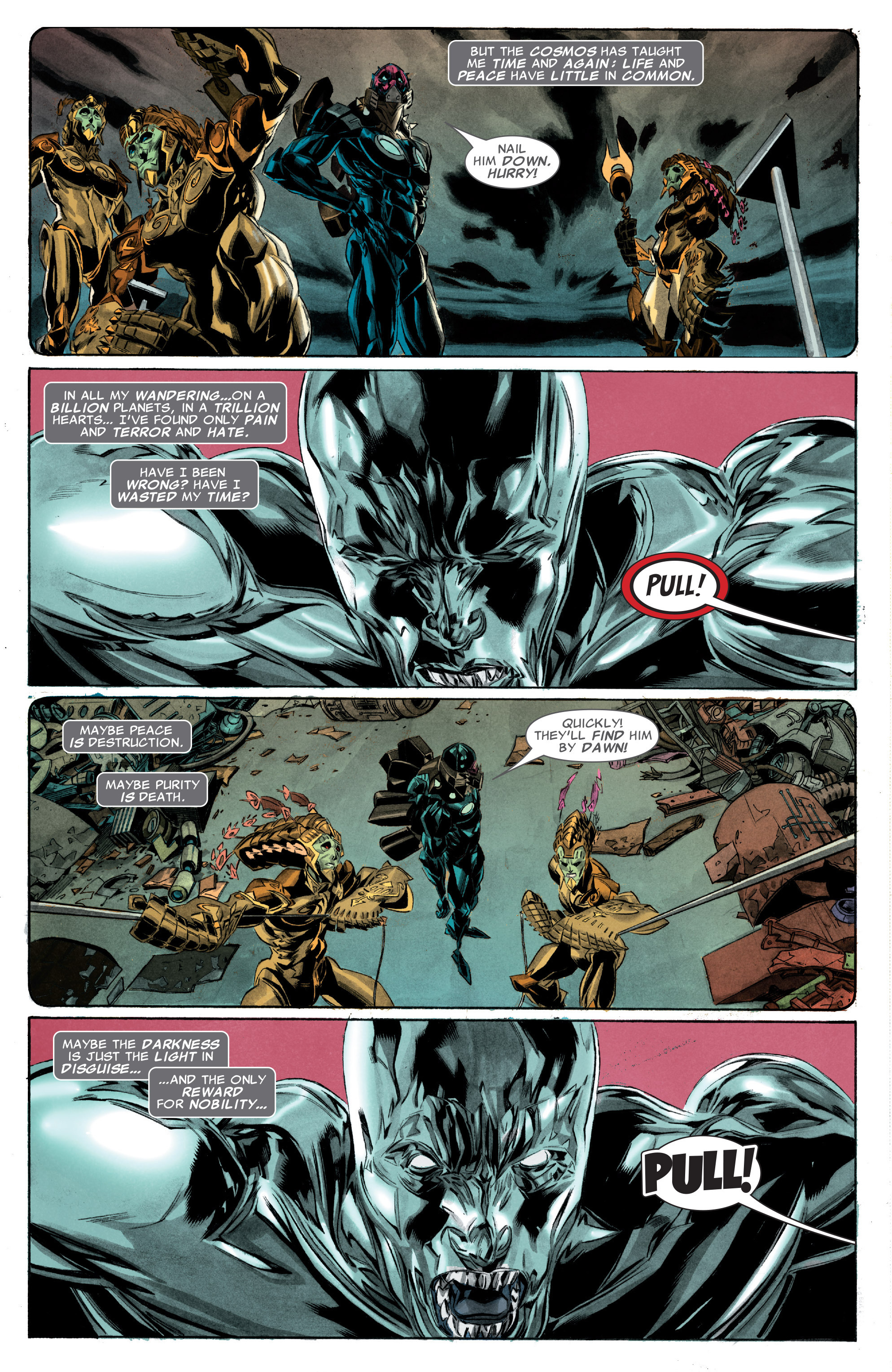 Read online Silver Surfer: In Thy Name comic -  Issue #3 - 4
