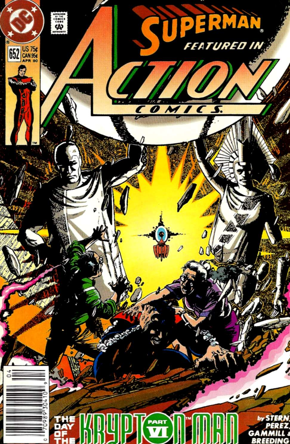 Action Comics (1938) 652 Page 1