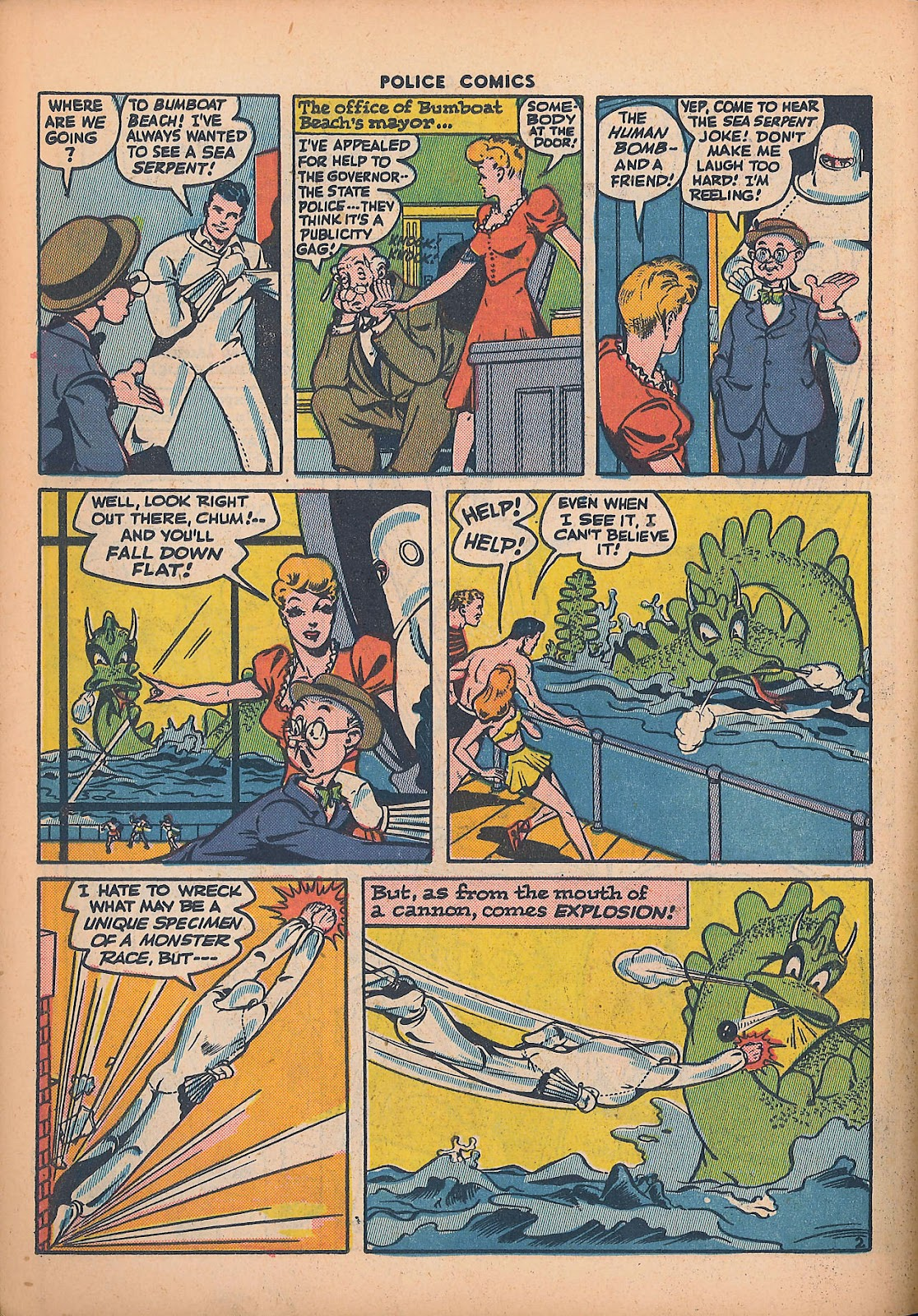 Police Comics issue 44 - Page 38