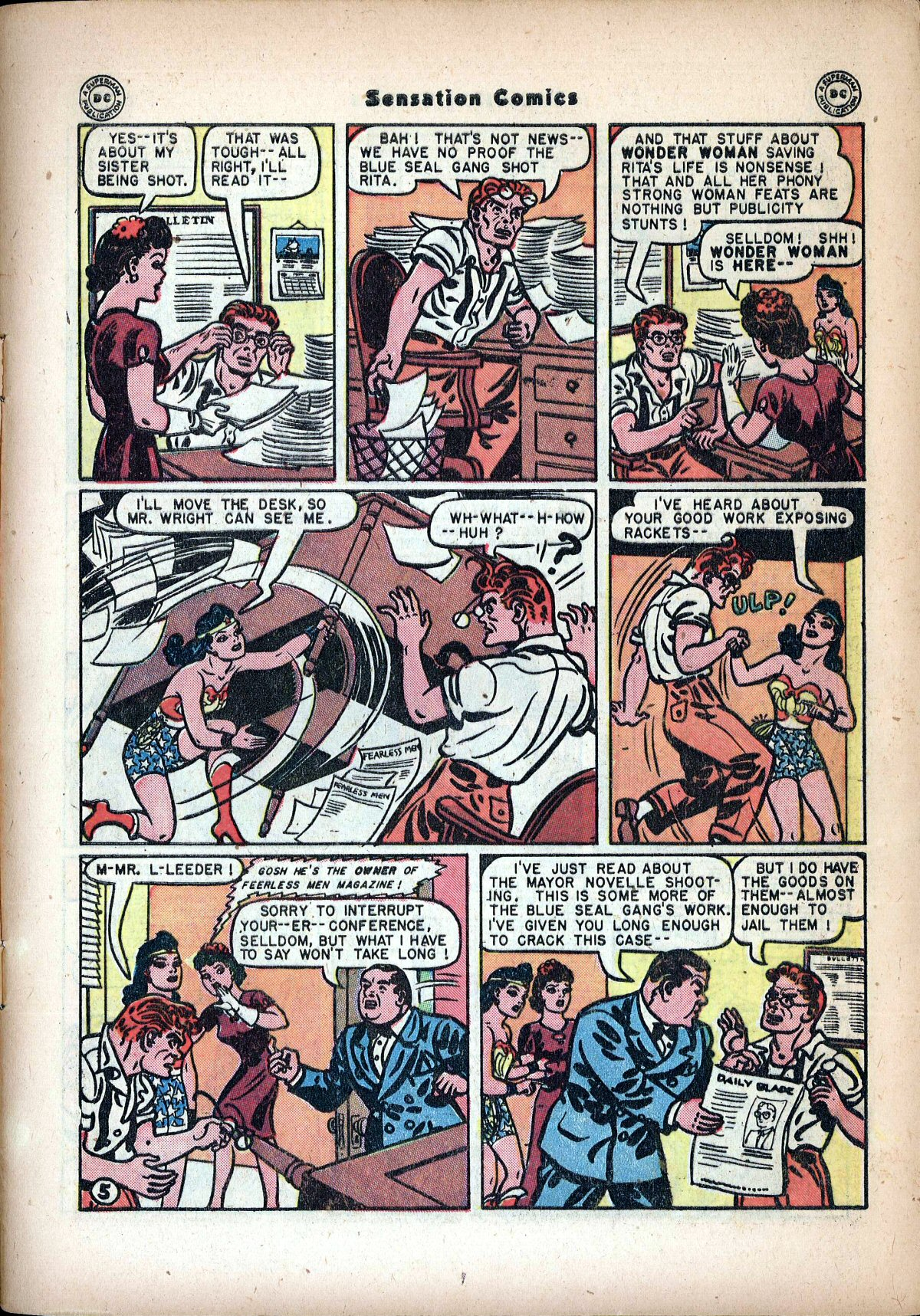 Read online Sensation (Mystery) Comics comic -  Issue #72 - 7