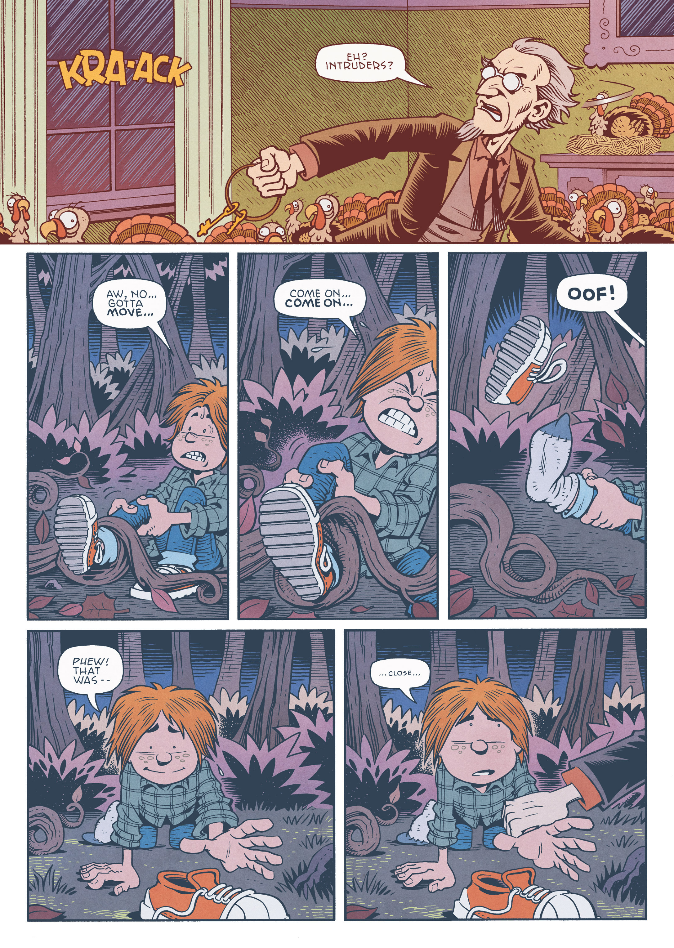 Read online Jim Henson's The Musical Monsters of Turkey Hollow comic -  Issue # Full - 70
