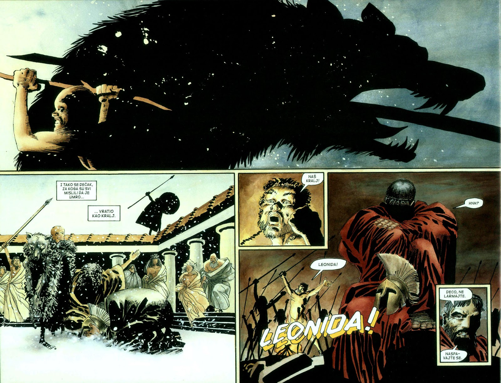 Read online 300 (2007) comic -  Issue # TPB - 15