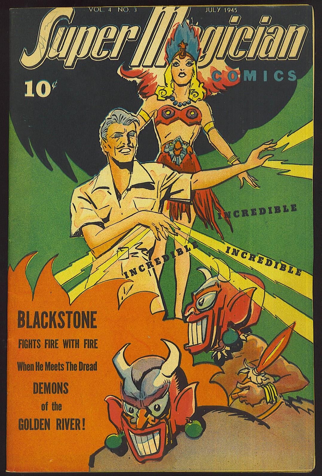 Read online Super-Magician Comics comic -  Issue #39 - 1