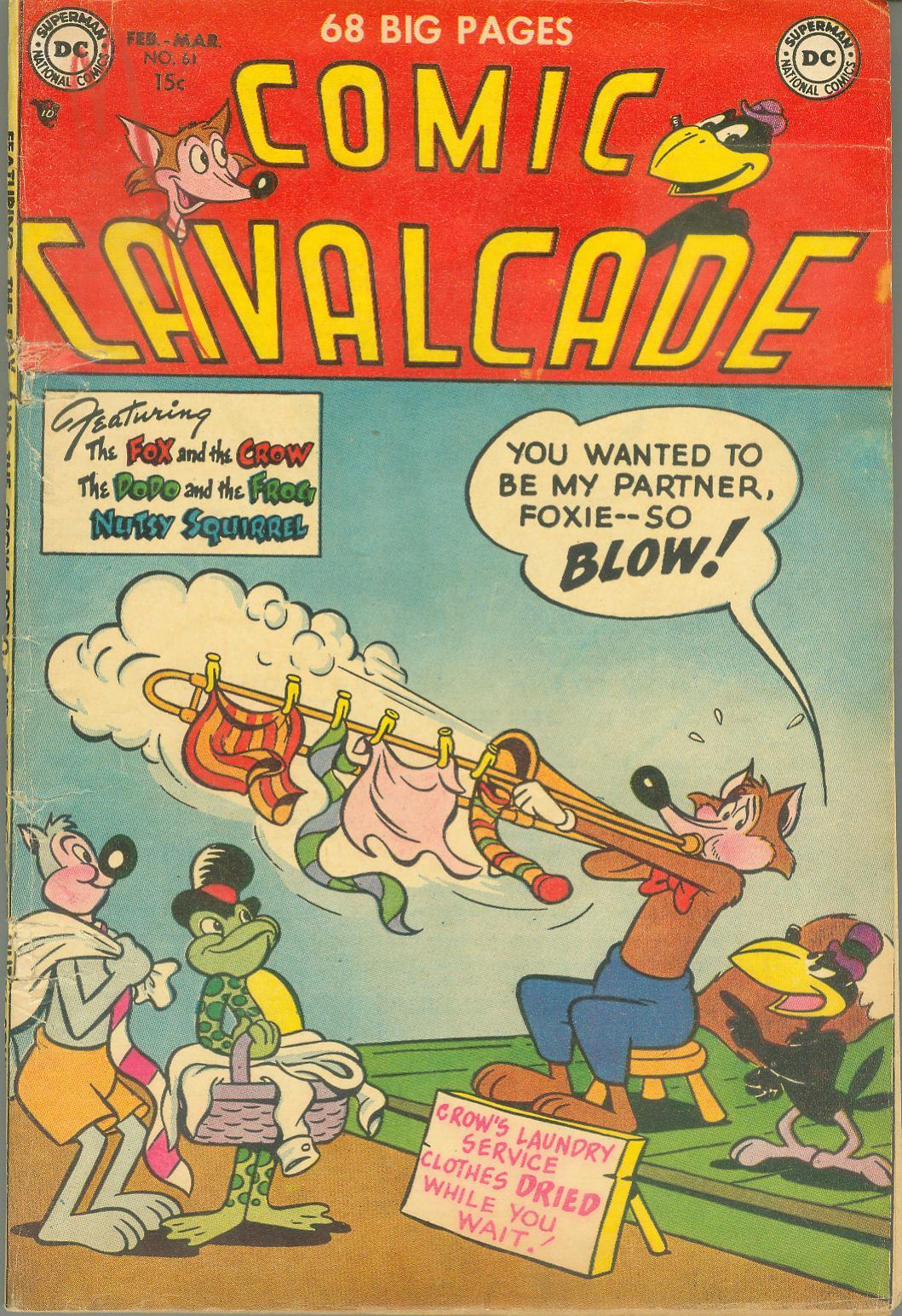Comic Cavalcade issue 61 - Page 1