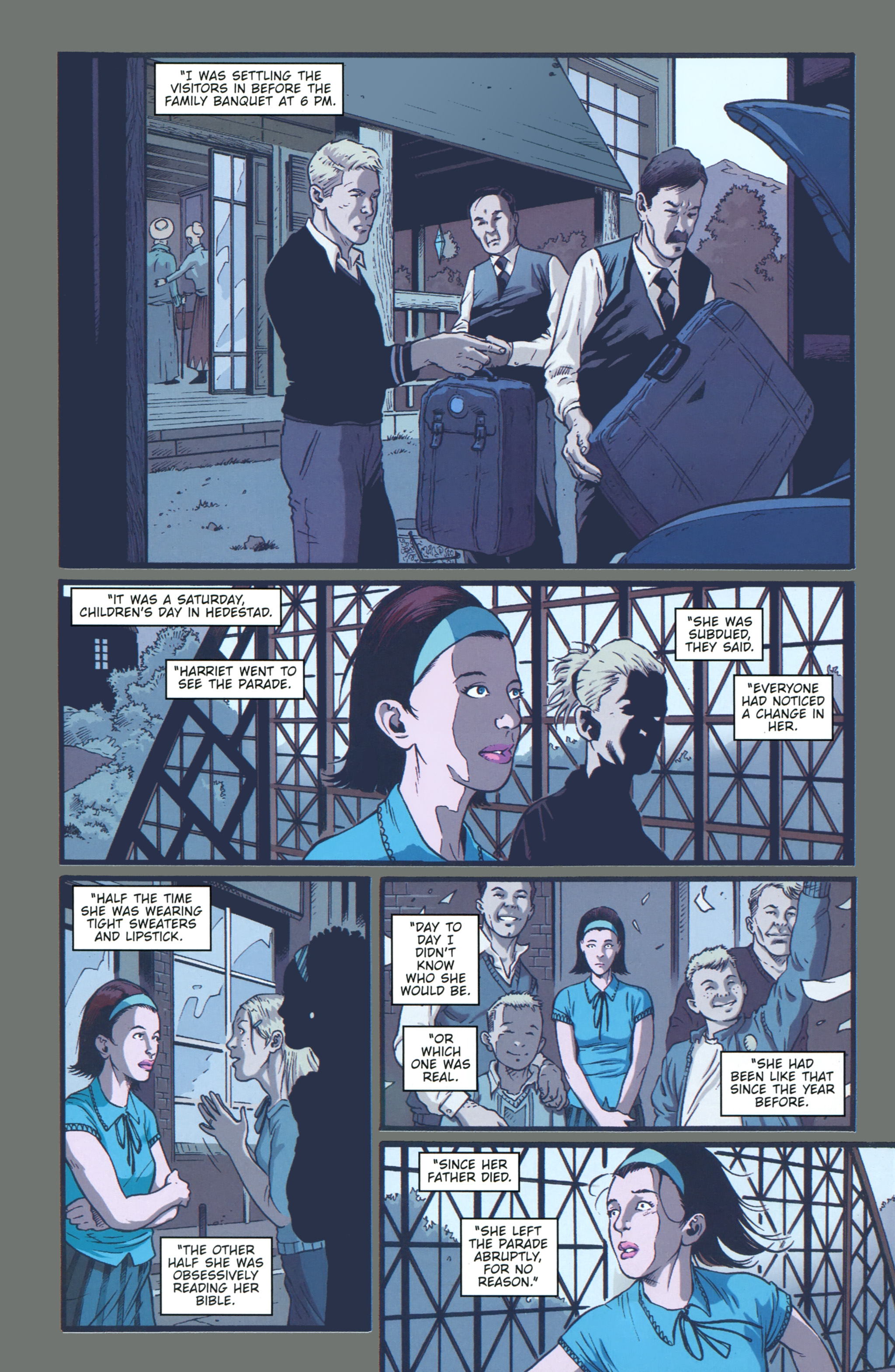 Read online The Girl With the Dragon Tattoo comic -  Issue # TPB 1 - 55