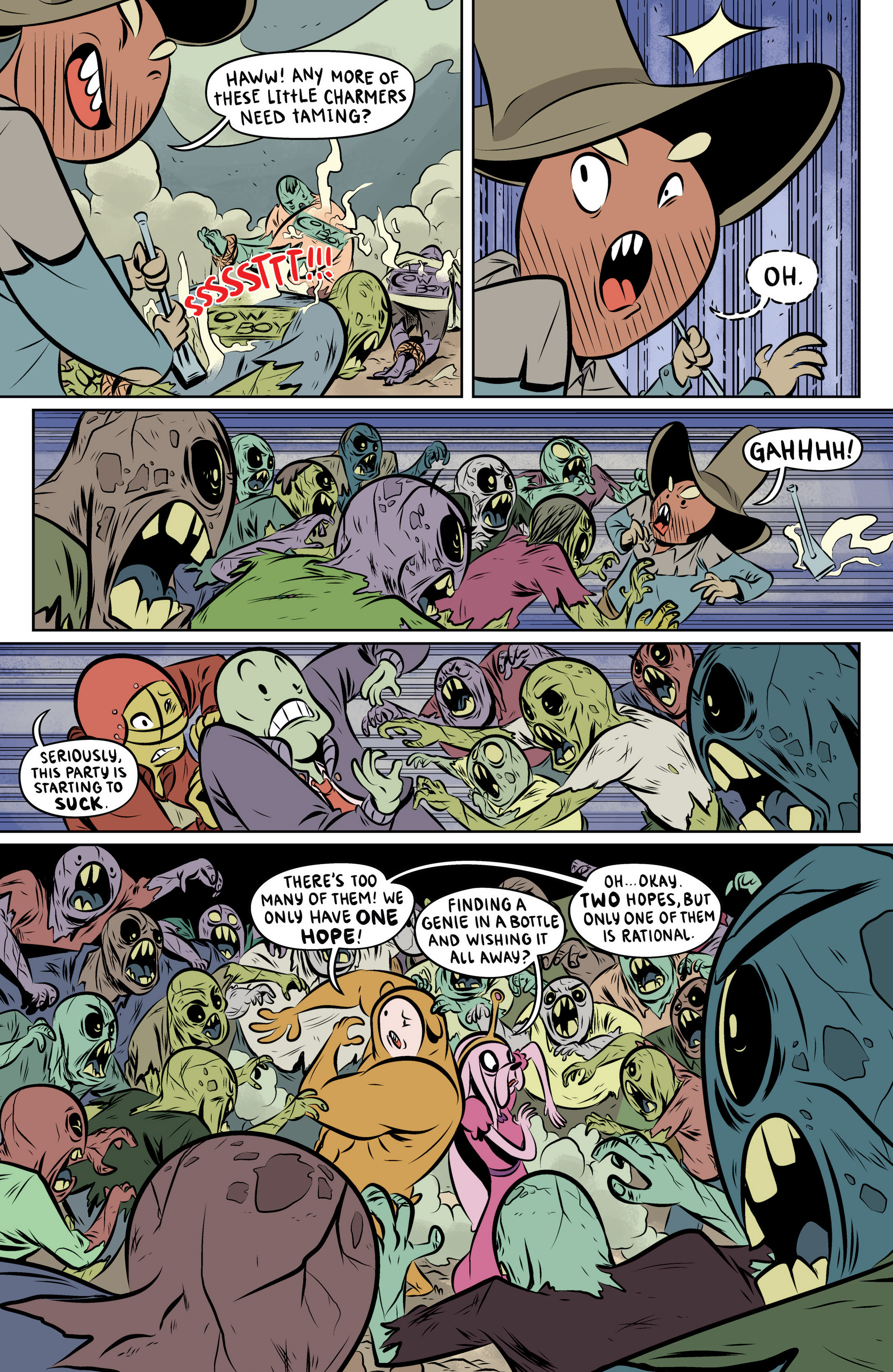 Read online Adventure Time: The Flip Side comic -  Issue #6 - 19