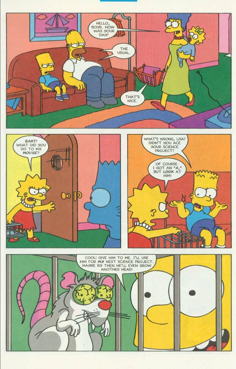 Read online Simpsons Comics comic -  Issue #8 - 21