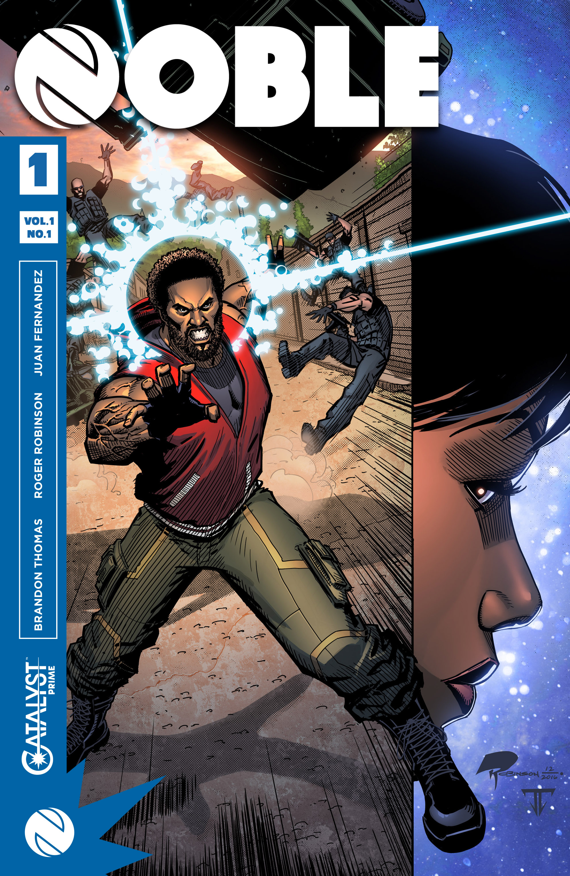 Read online Noble comic -  Issue #1 - 1