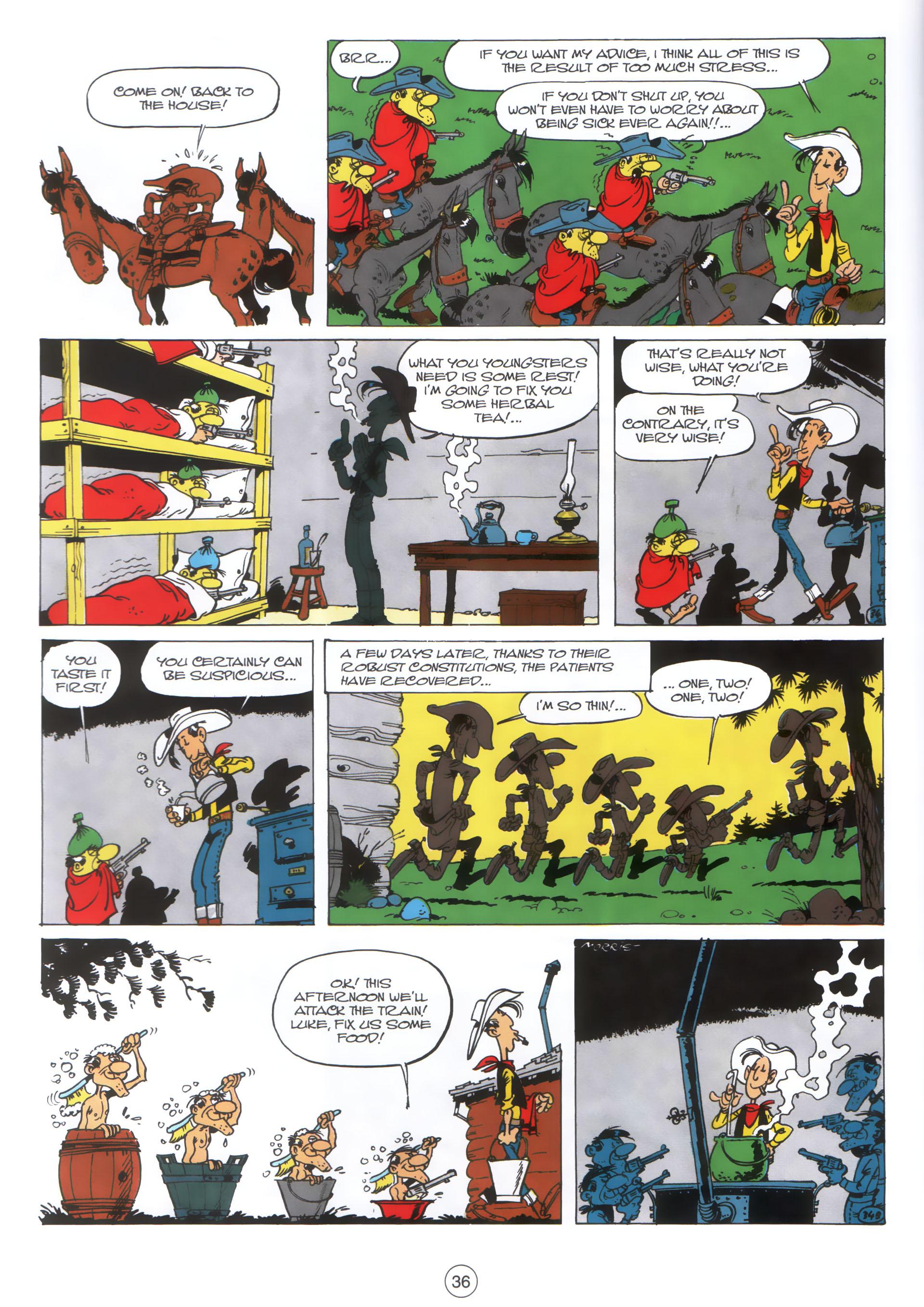Read online A Lucky Luke Adventure comic -  Issue #30 - 35