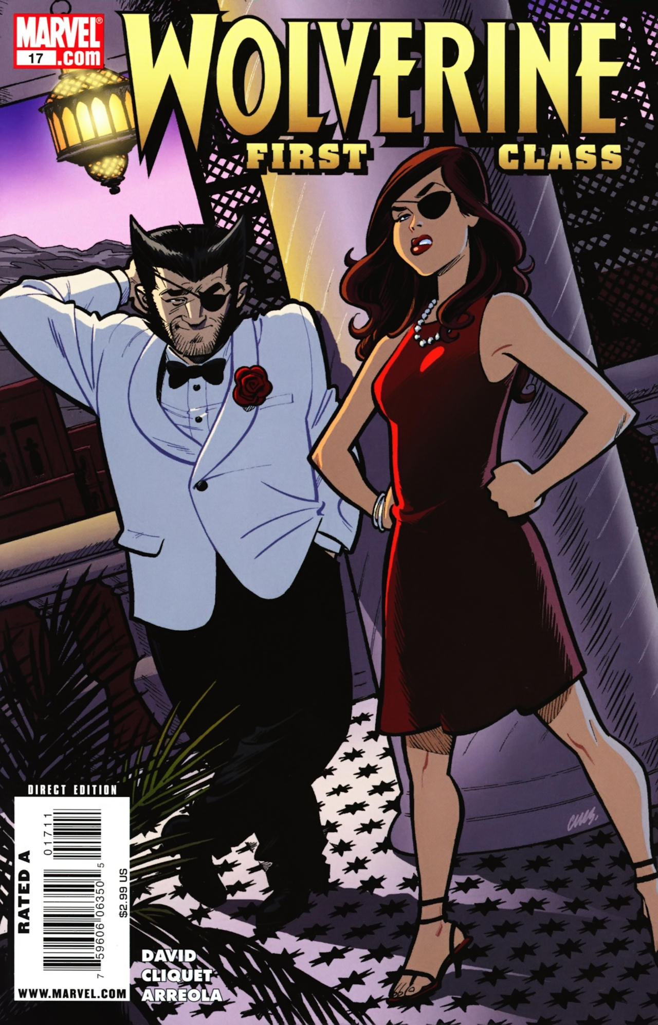 Read online Wolverine: First Class comic -  Issue #17 - 1