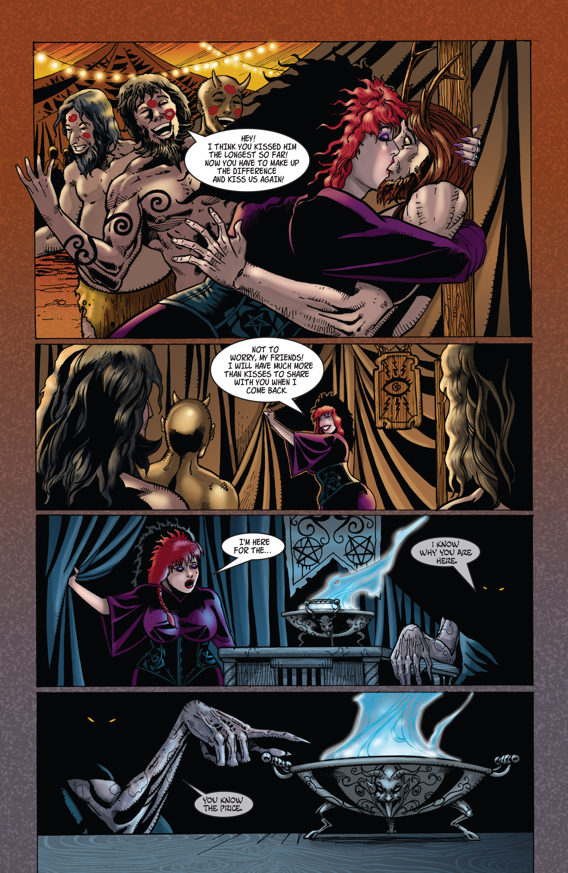 Read online Tarot: Witch of the Black Rose comic -  Issue #104 - 23