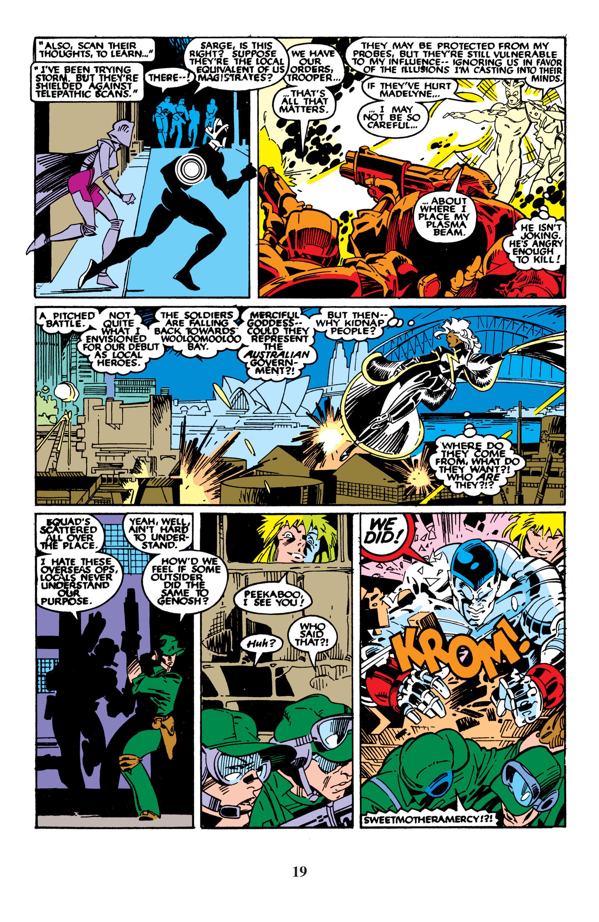 Read online Uncanny X-Men (1963) comic -  Issue #235 - 19