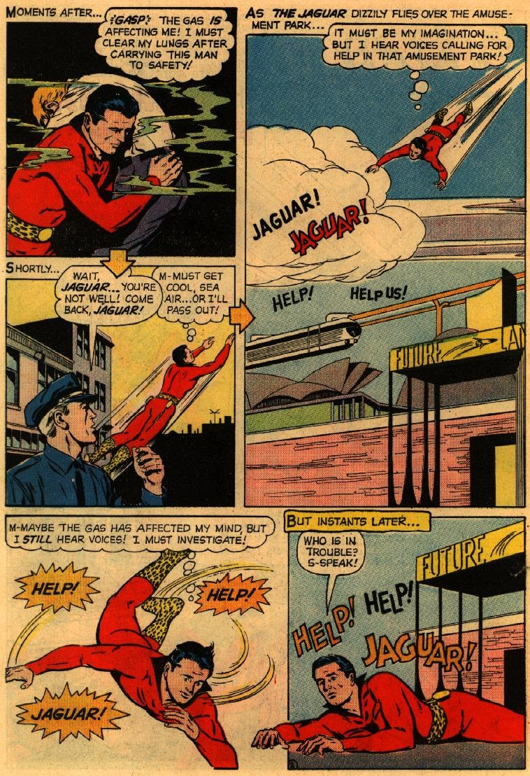 Adventures of the Jaguar issue 3 - Page 30