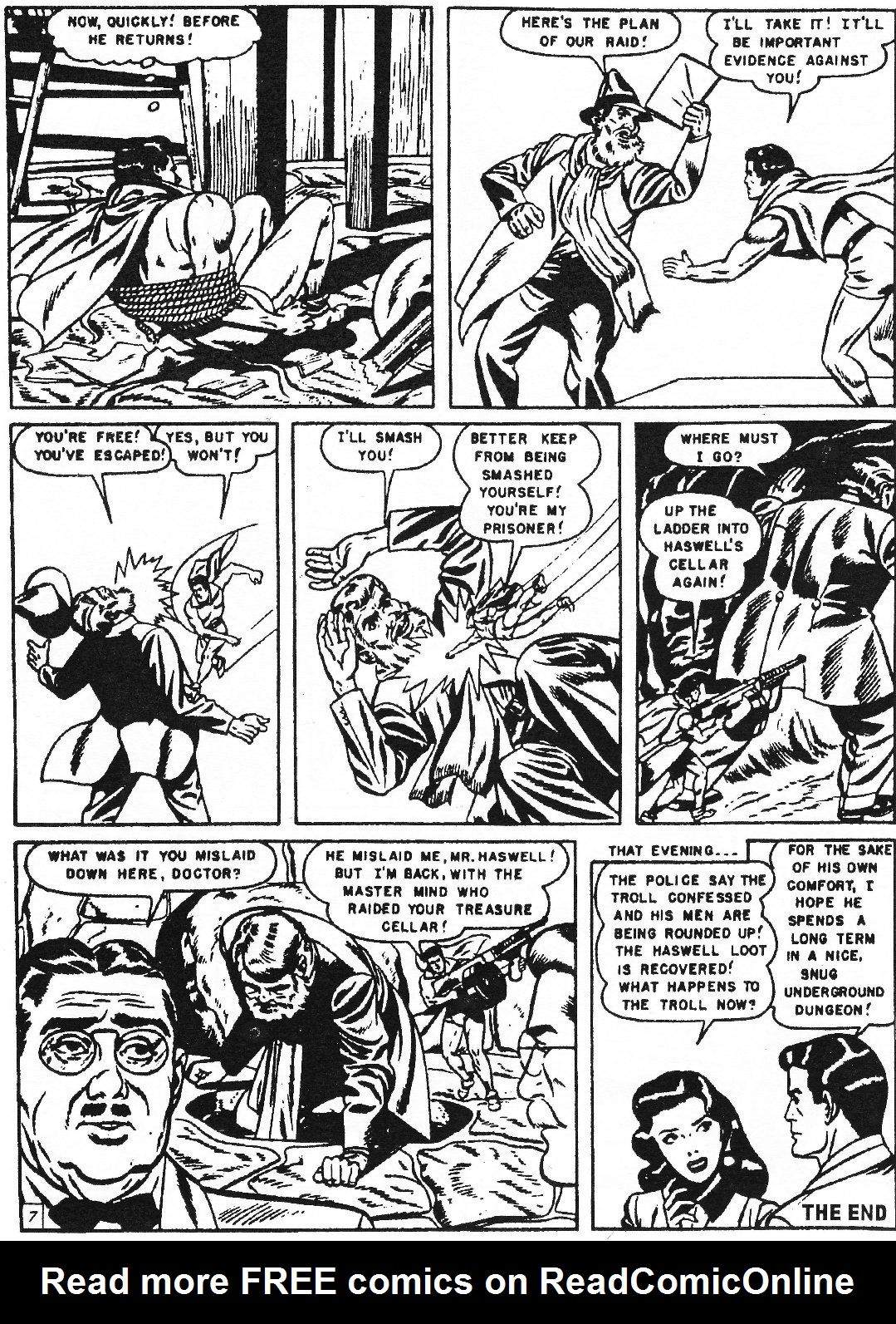 Read online Men of Mystery Comics comic -  Issue #70 - 18