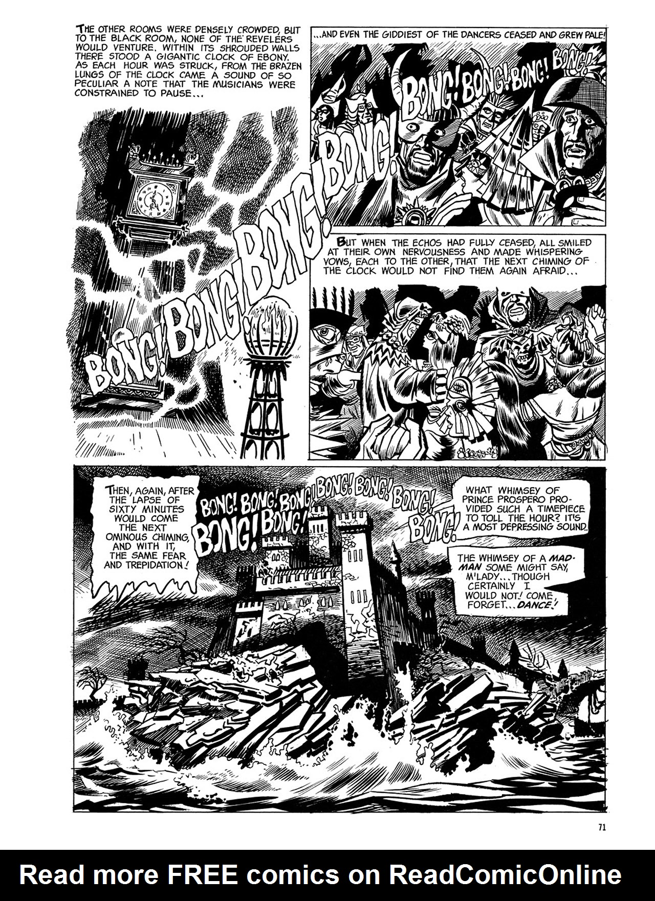 Read online Eerie Archives comic -  Issue # TPB 3 - 72