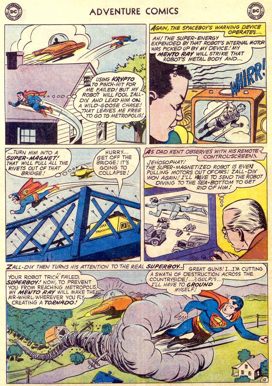 Read online Adventure Comics (1938) comic -  Issue #264 - 12