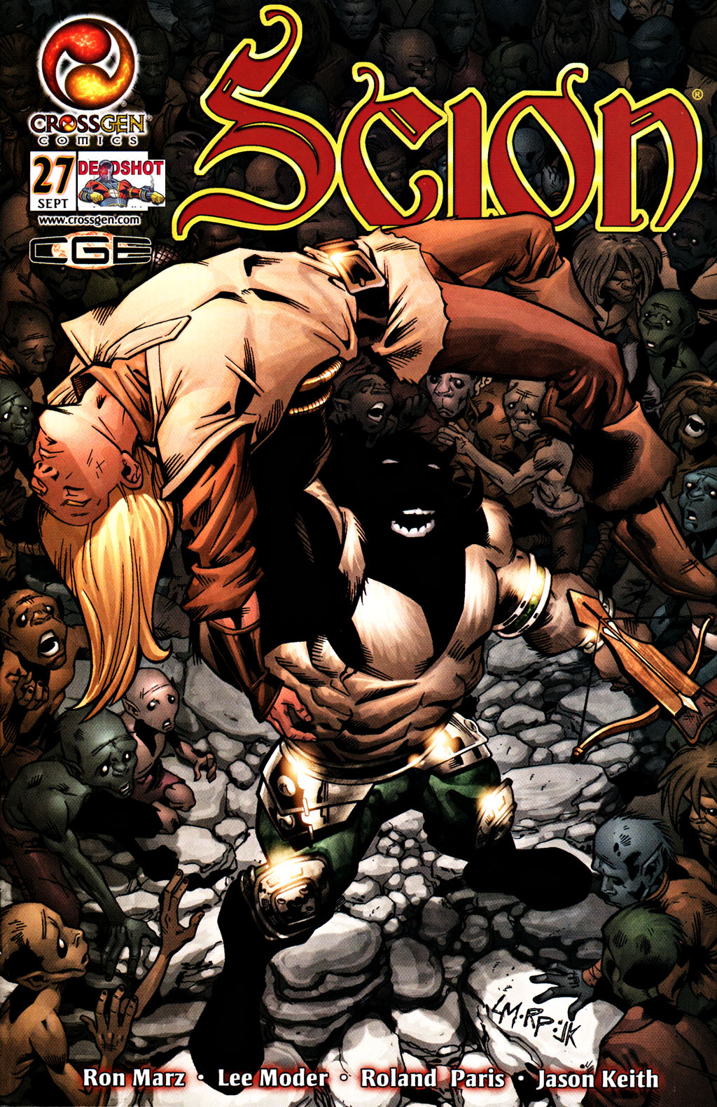 Read online Scion comic -  Issue #27 - 1