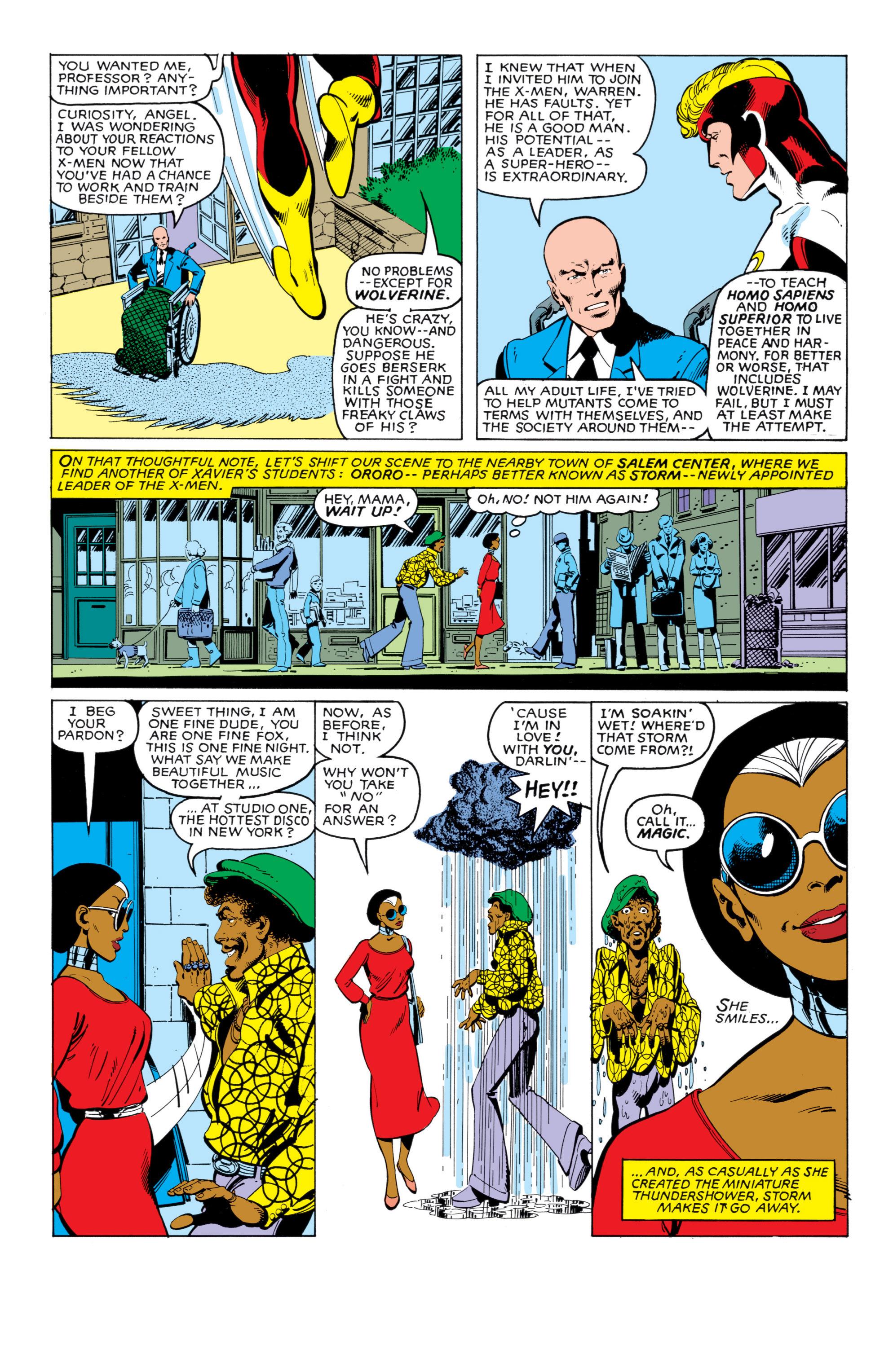 Uncanny X-Men (1963) 140 Page 3