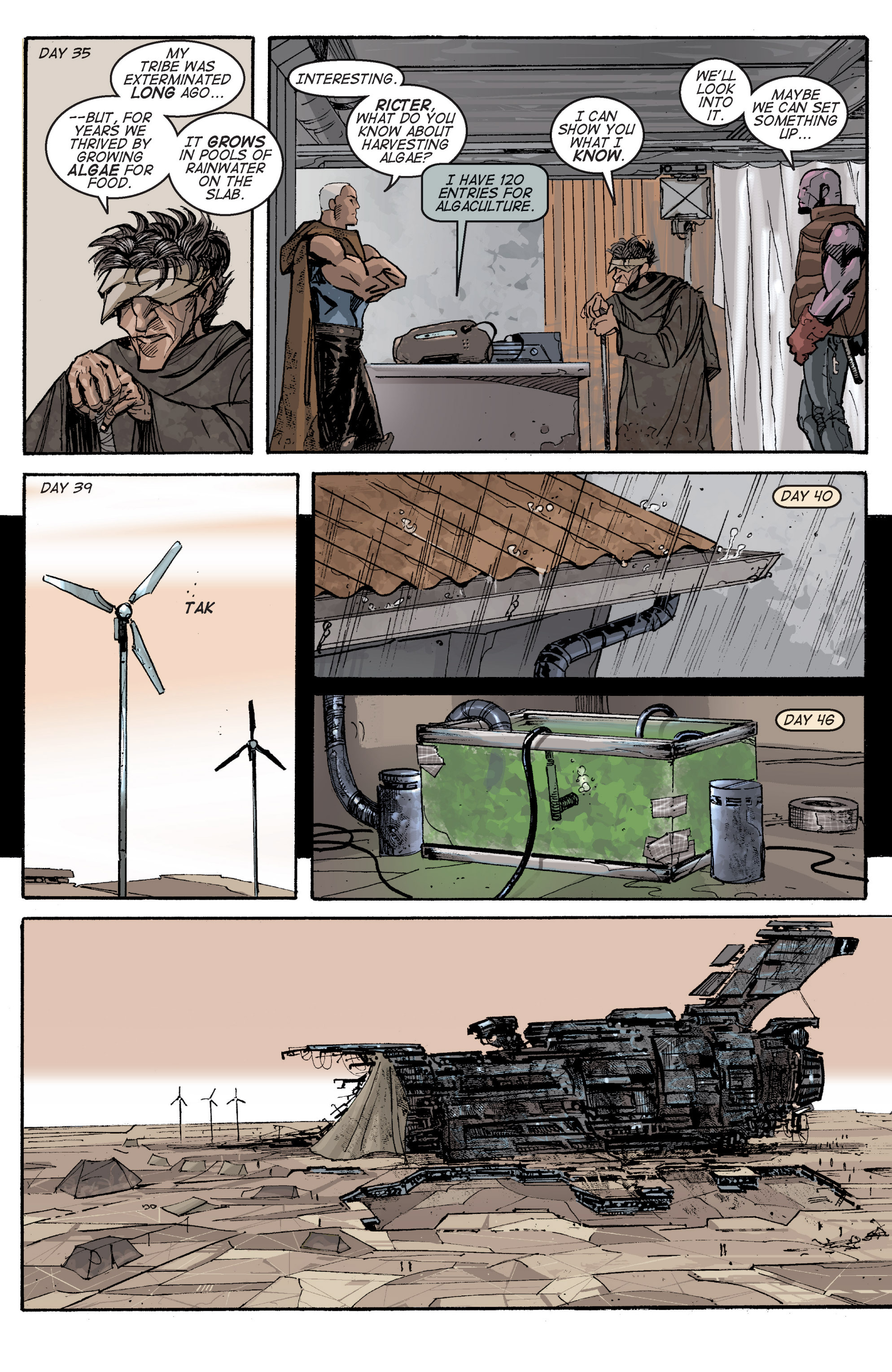 Read online Planetoid comic -  Issue # TPB - 83