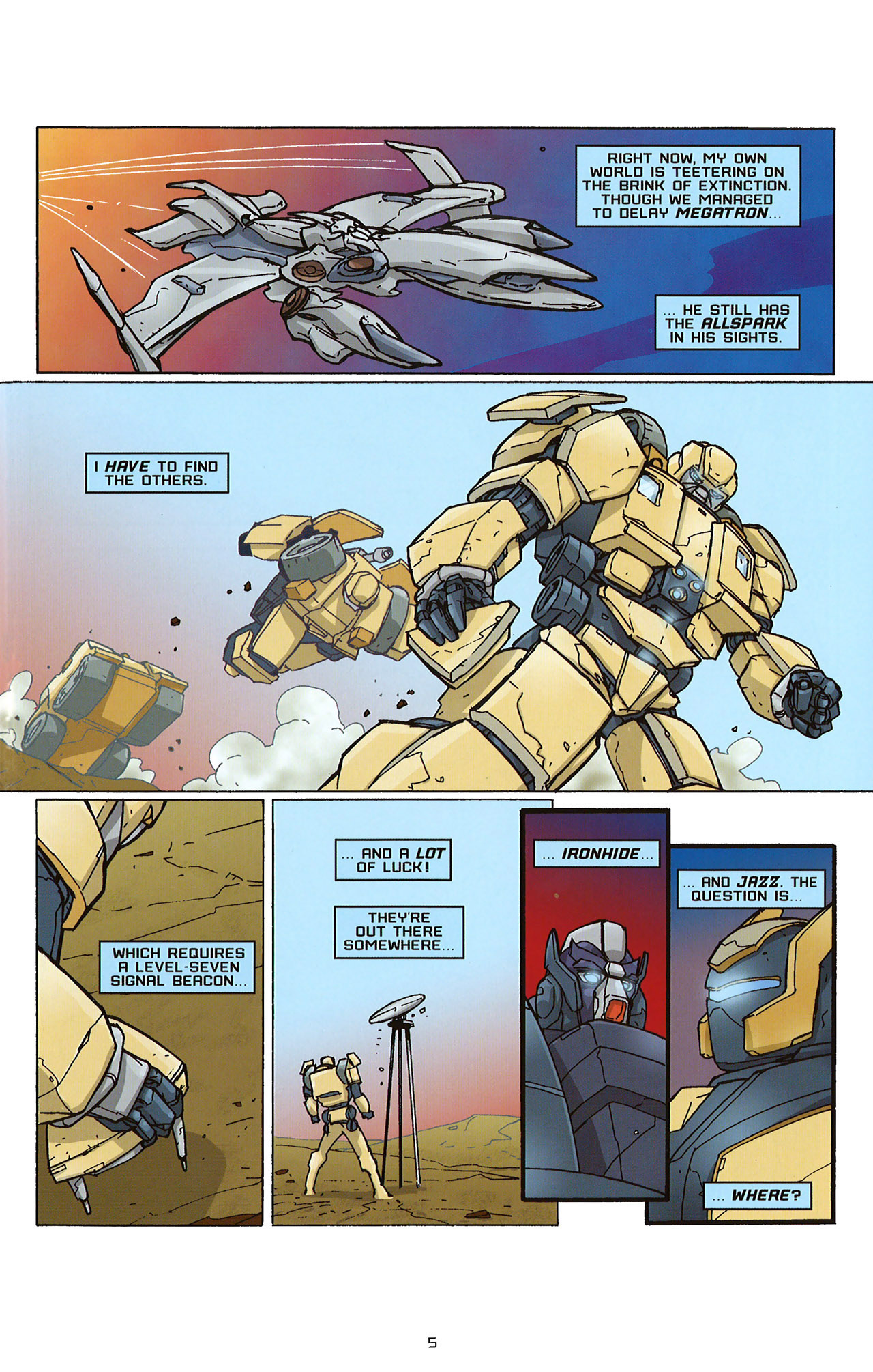 Read online Transformers: Saga of the Allspark comic -  Issue #2 - 8