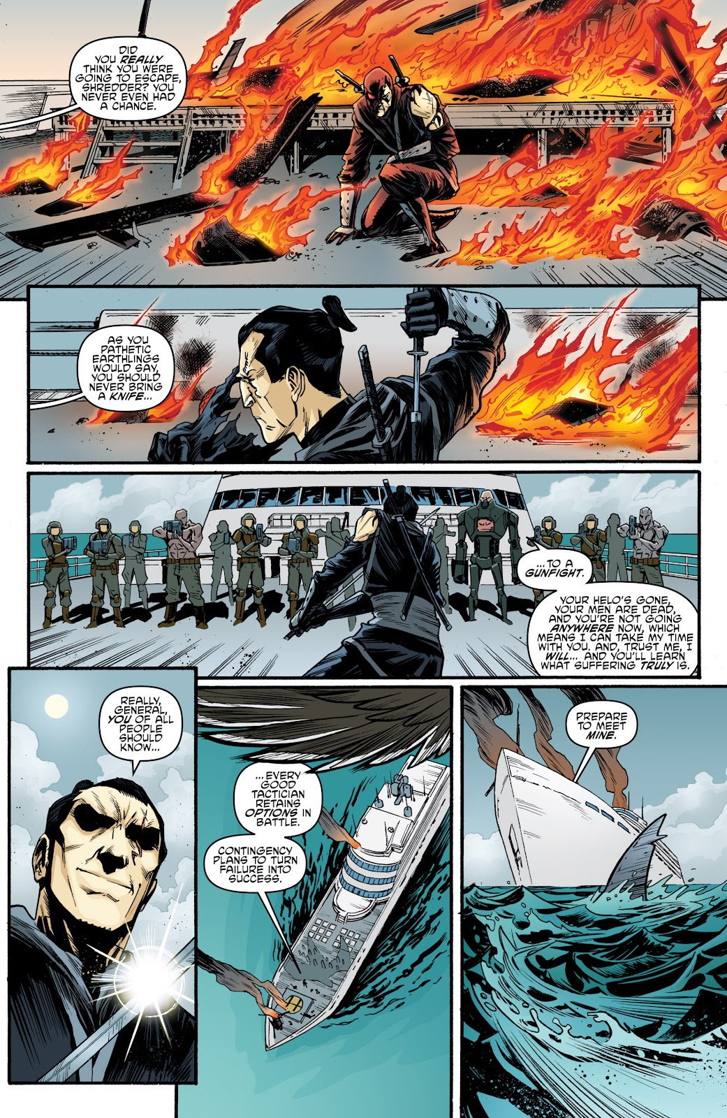 Read online Teenage Mutant Ninja Turtles: The IDW Collection comic -  Issue # TPB 4 (Part 3) - 110