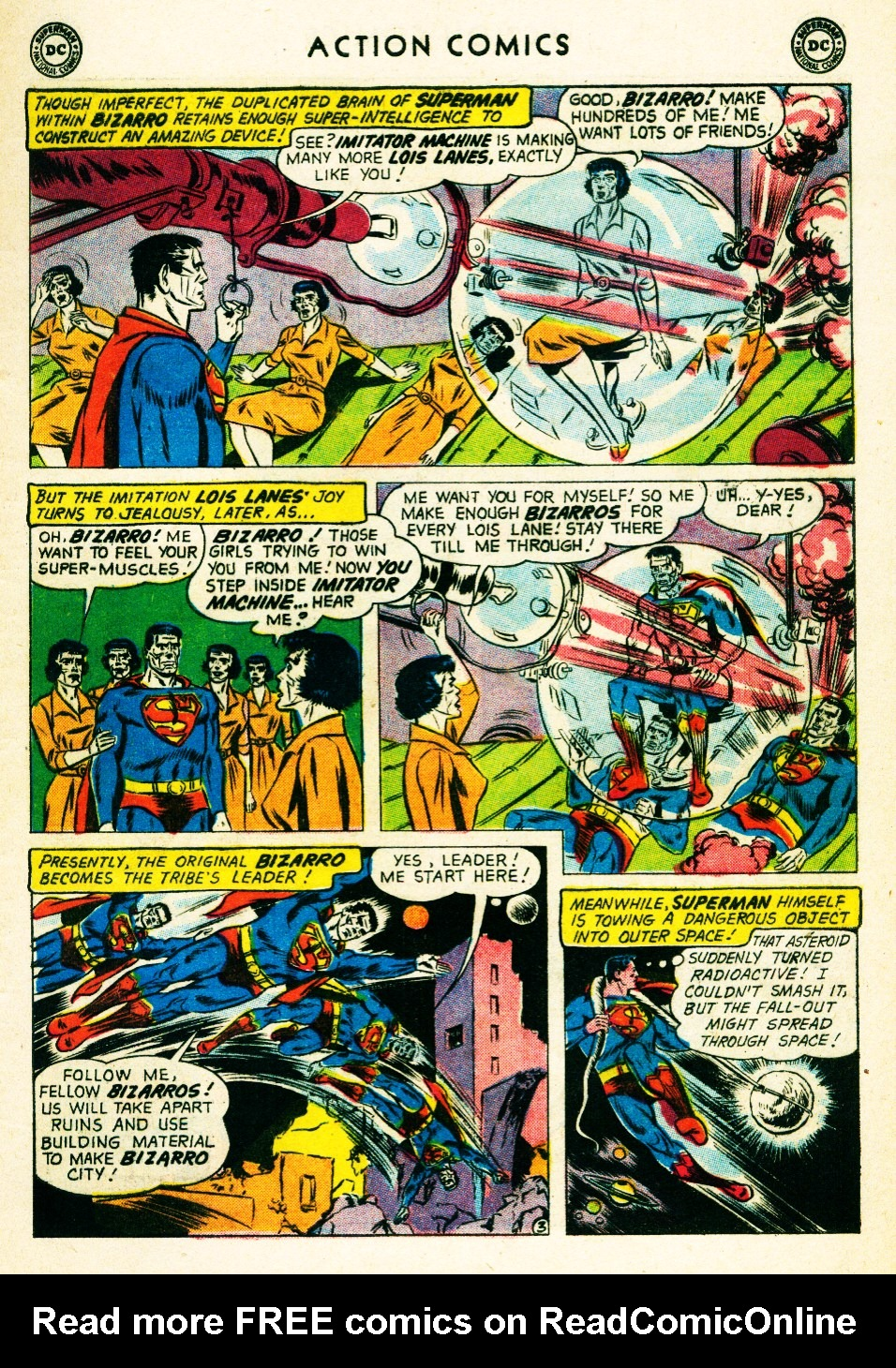 Read online Action Comics (1938) comic -  Issue #263 - 5
