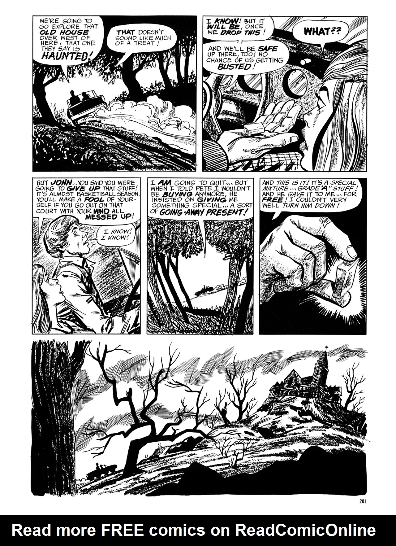 Read online Eerie Archives comic -  Issue # TPB 6 - 201