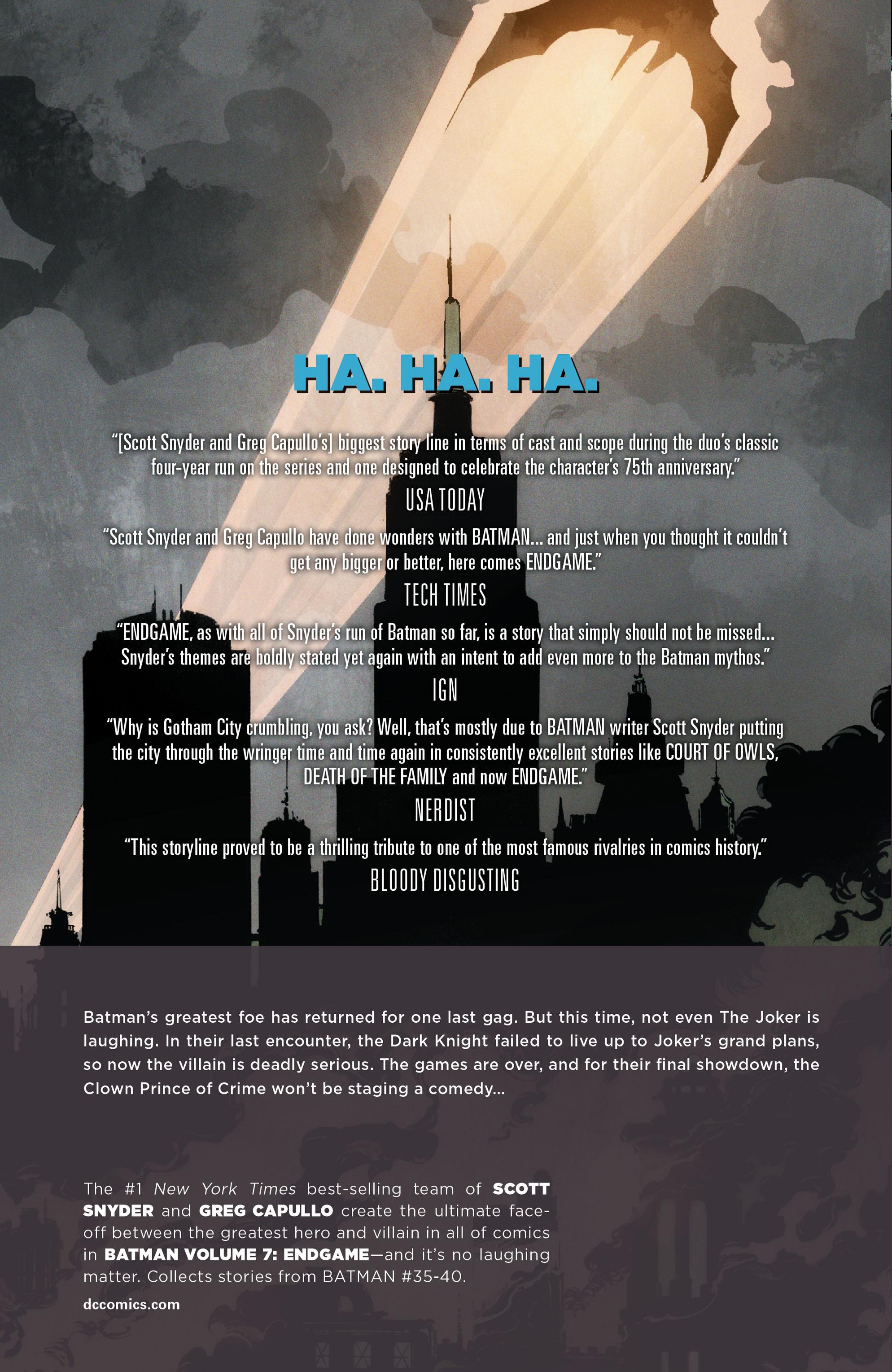 Read online Batman (2011) comic -  Issue # _TPB 7 - 170