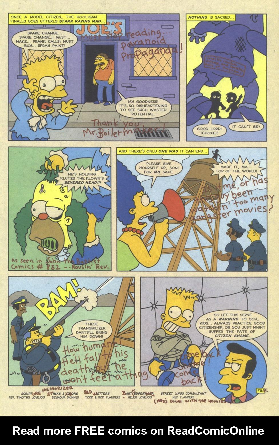 Read online Simpsons Comics comic -  Issue #23 - 31