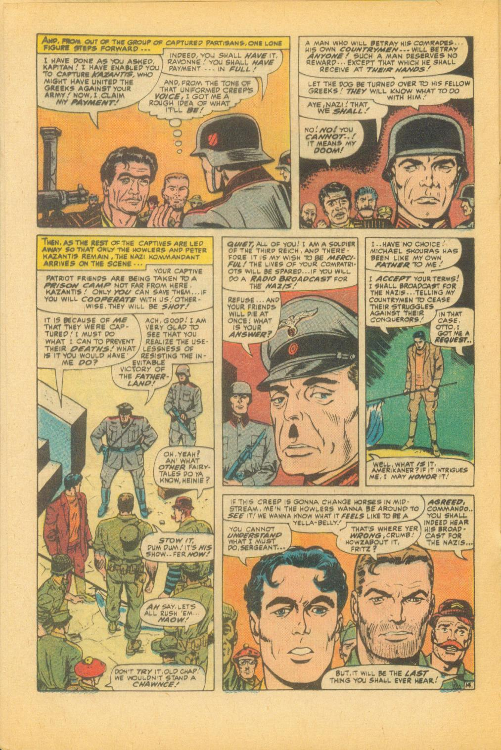 Read online Sgt. Fury comic -  Issue #99 - 20