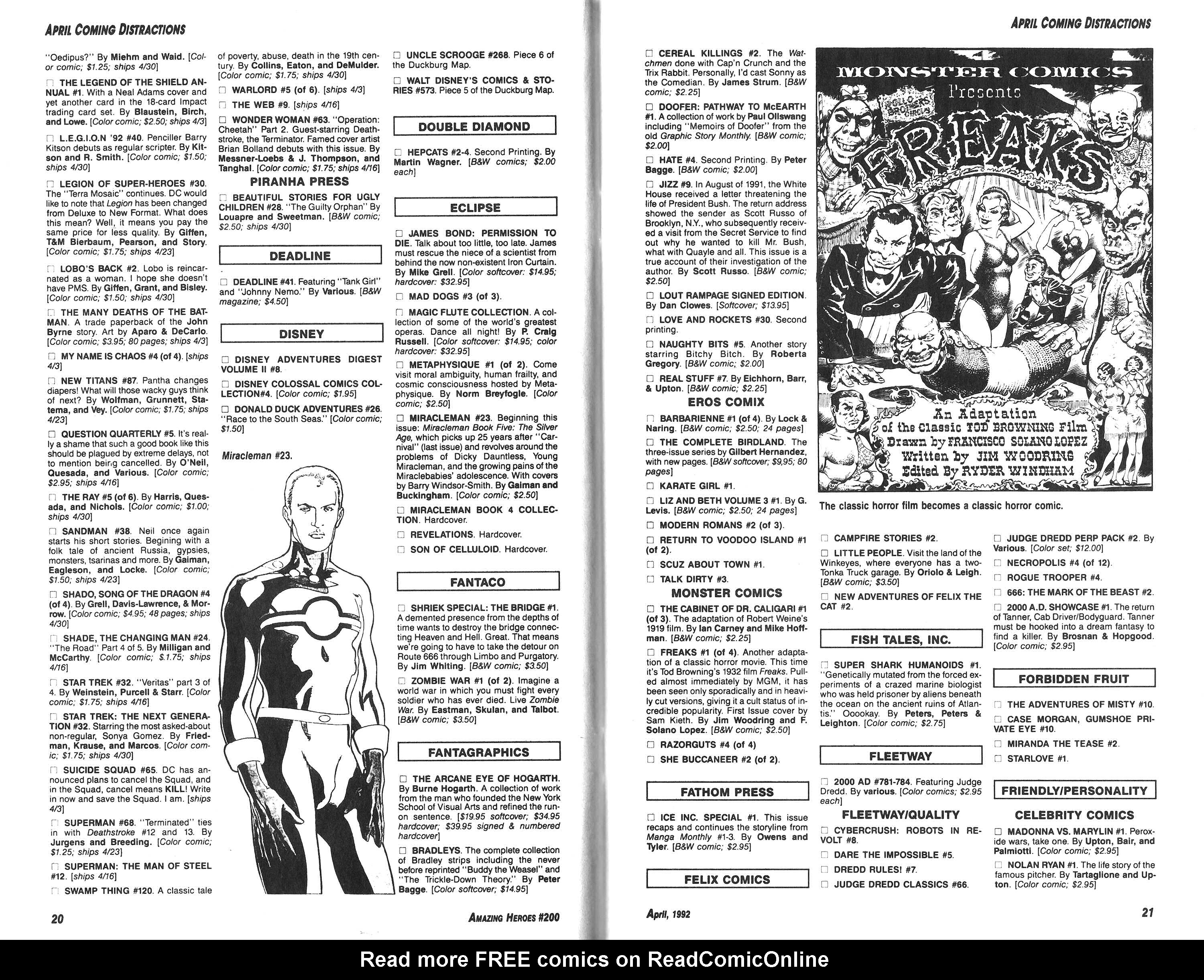 Read online Amazing Heroes comic -  Issue #200 - 11