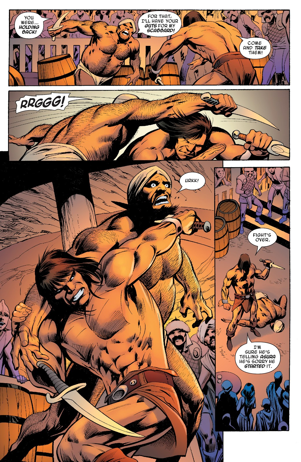 Read online Savage Sword of Conan comic -  Issue #10 - 7