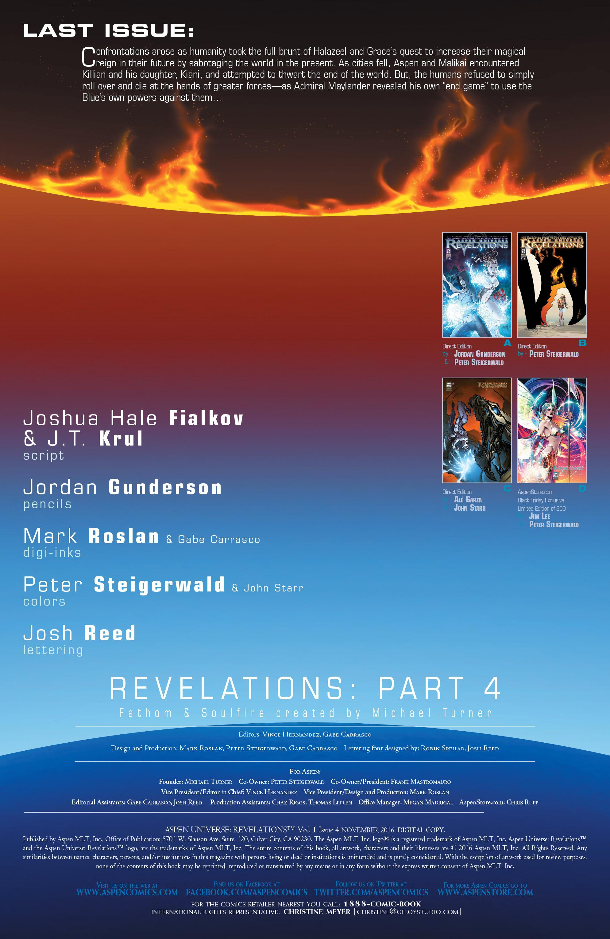 Read online Aspen Universe: Revelations comic -  Issue #4 - 3
