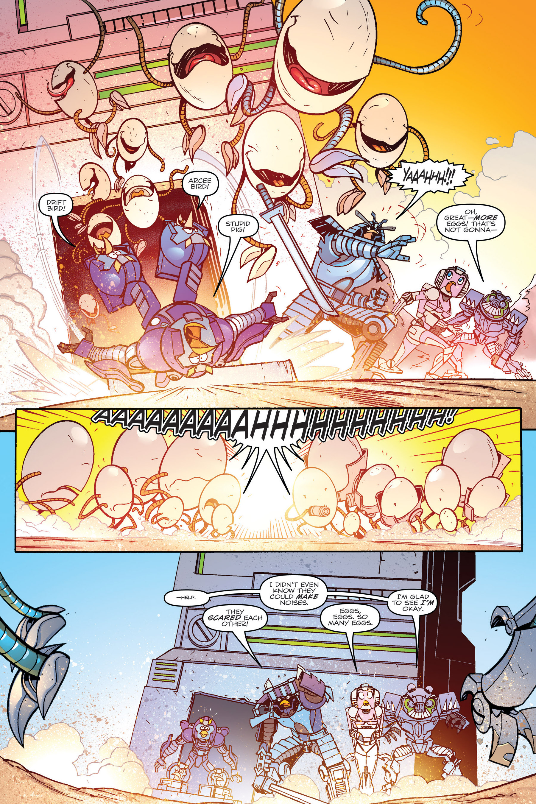 Read online Angry Birds Transformers: Age of Eggstinction comic -  Issue # Full - 66