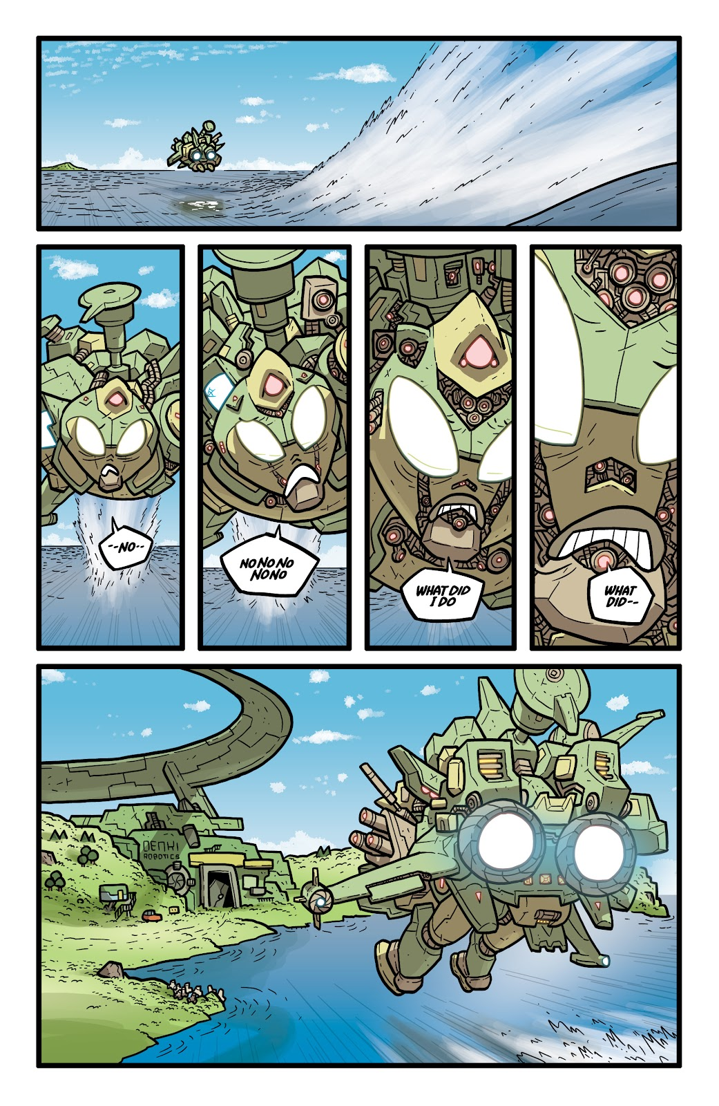 Read online Kaijumax: Season Four comic -  Issue #5 - 20