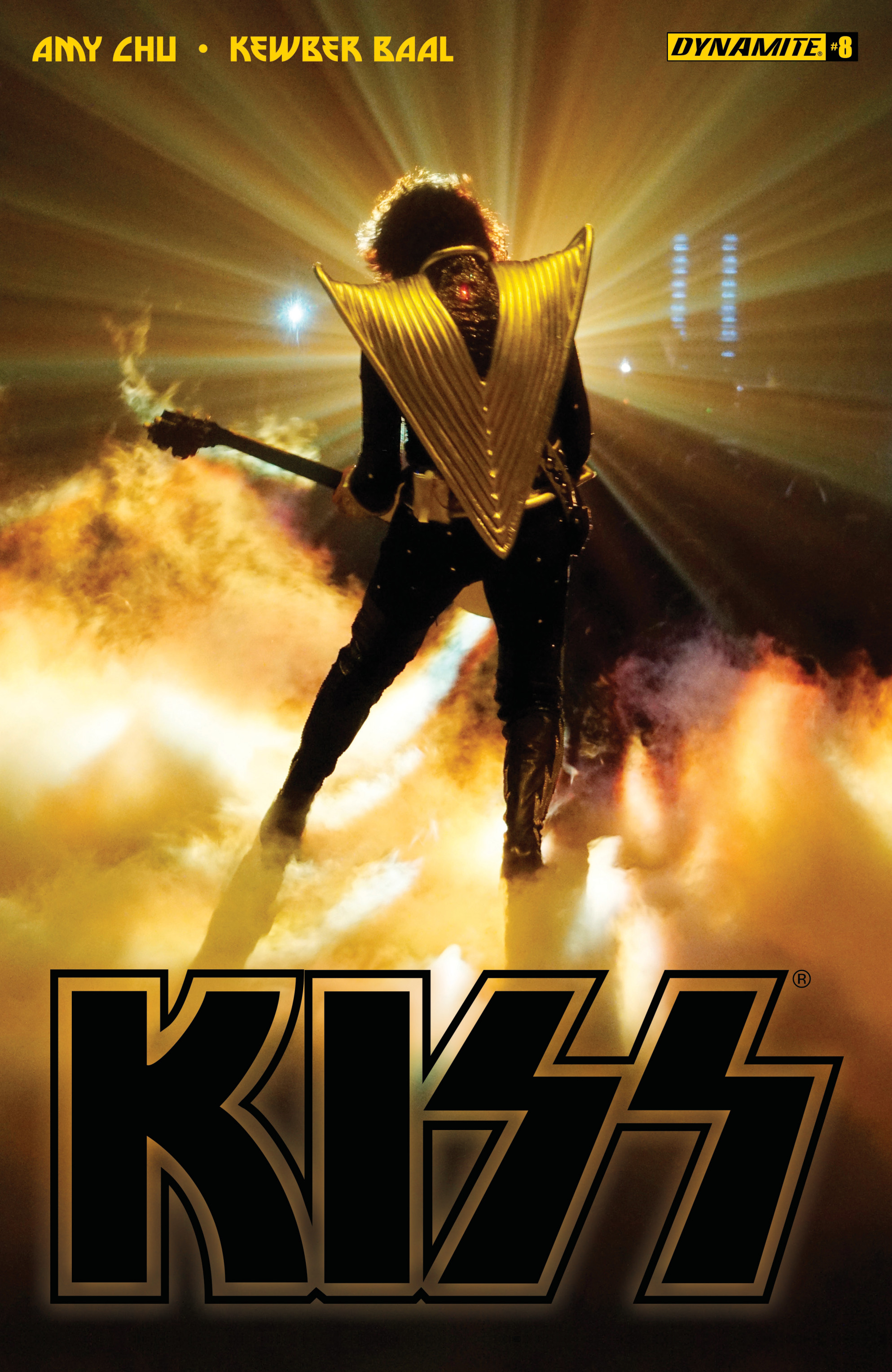 Read online KISS comic -  Issue #8 - 3