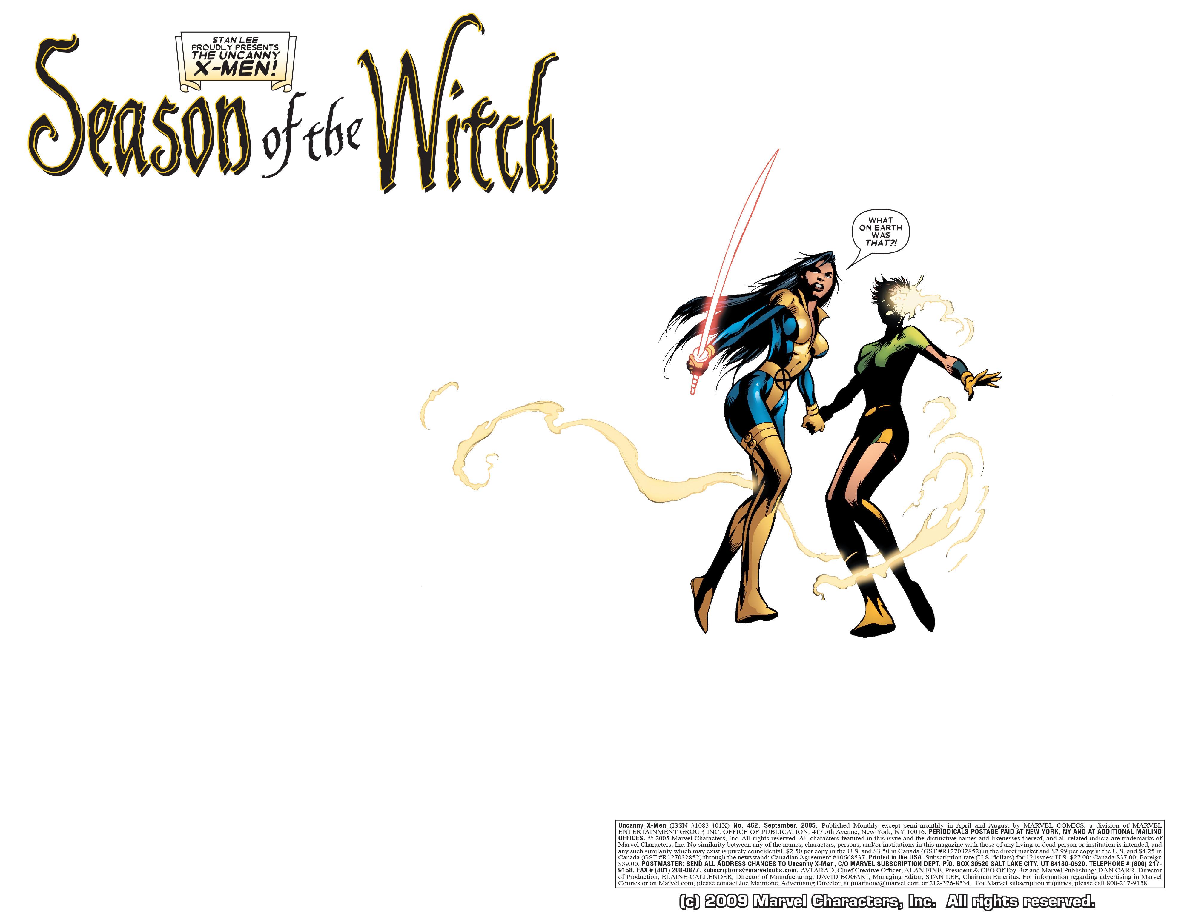 Read online Uncanny X-Men (1963) comic -  Issue #462 - 3