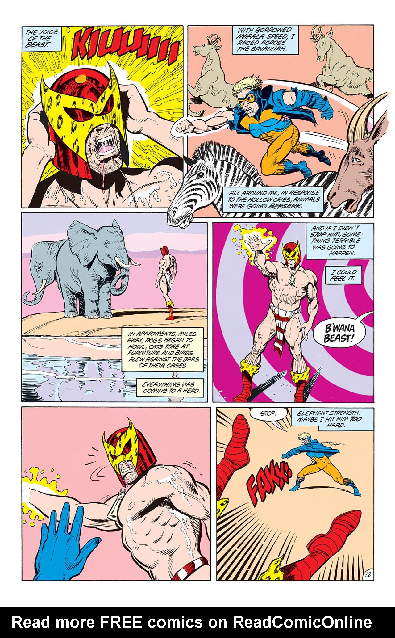 Read online Animal Man (1988) comic -  Issue #4 - 14