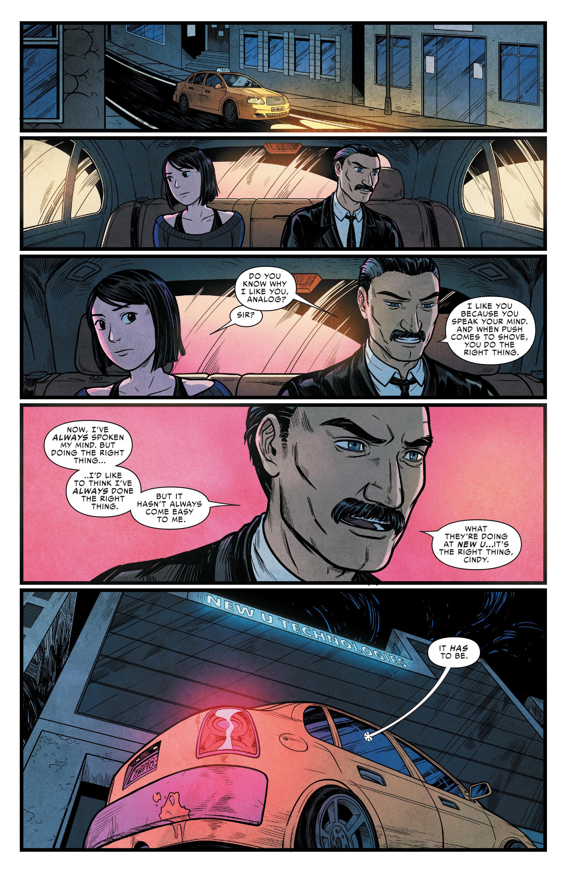 Read online Silk (2016) comic -  Issue #15 - 19