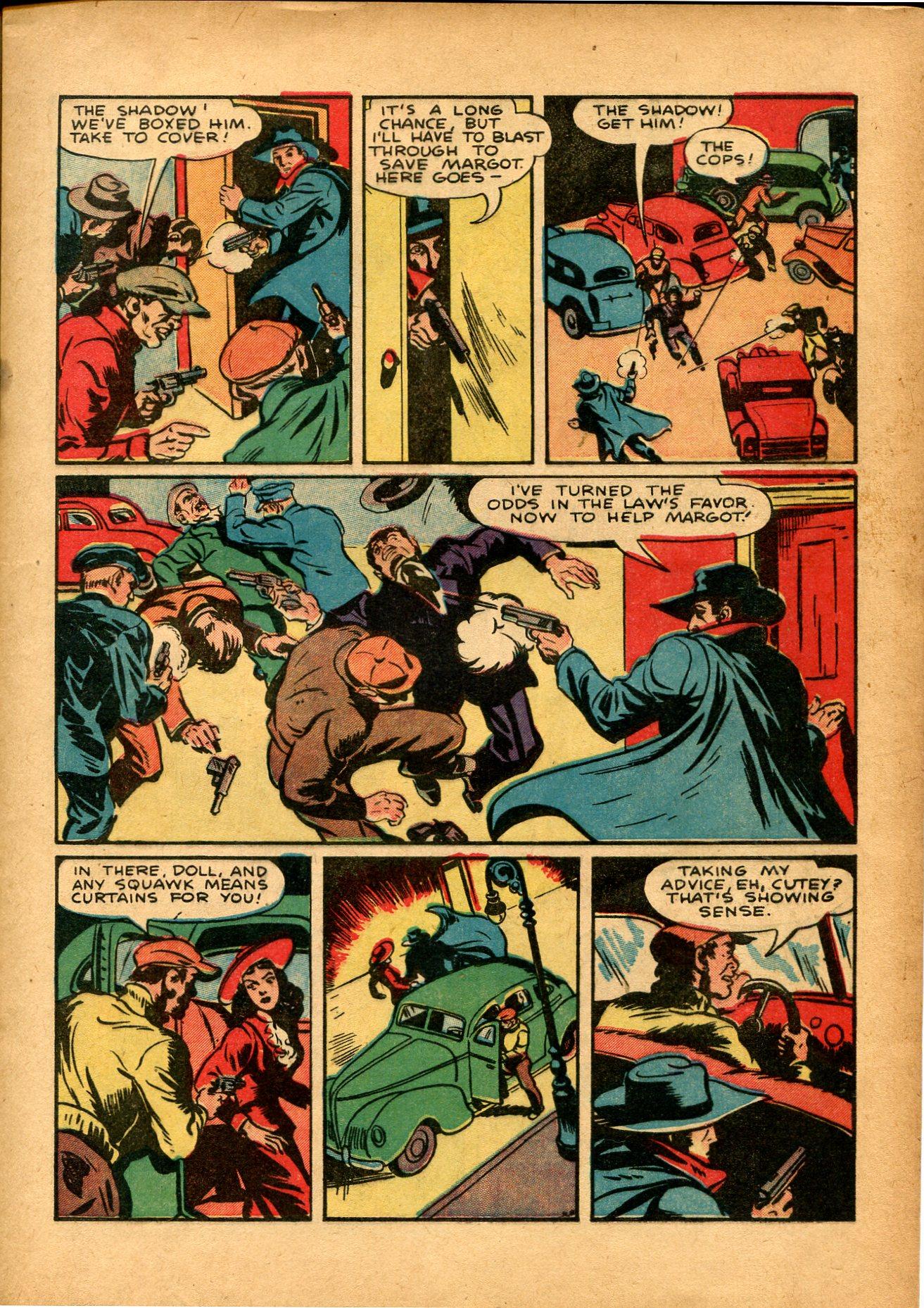 Read online Shadow Comics comic -  Issue #8 - 15