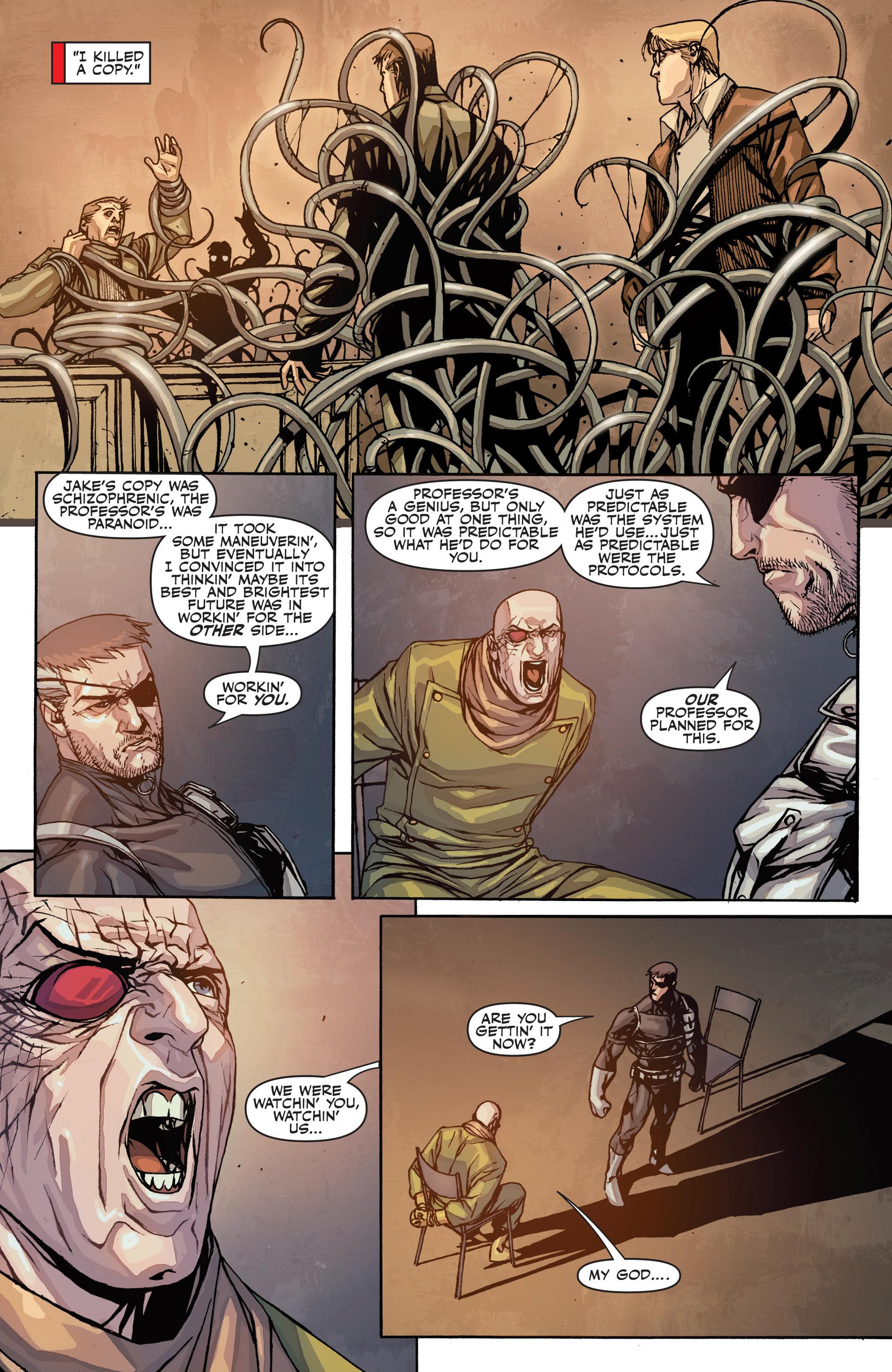 Read online Secret Warriors comic -  Issue #26 - 24