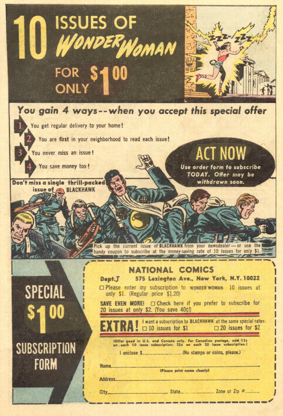 Read online Wonder Woman (1942) comic -  Issue #154 - 34