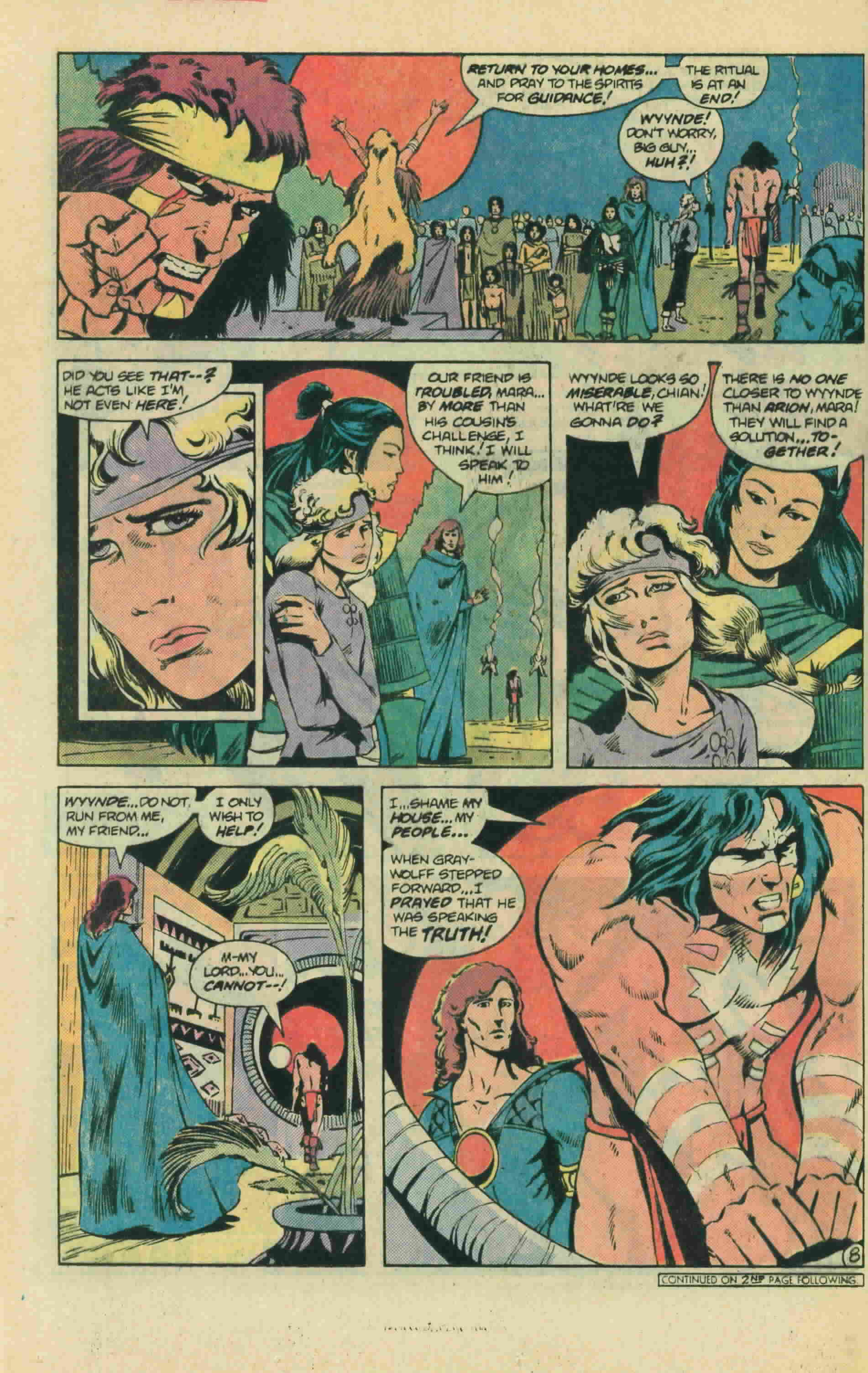 Read online Arion, Lord of Atlantis comic -  Issue #13 - 13