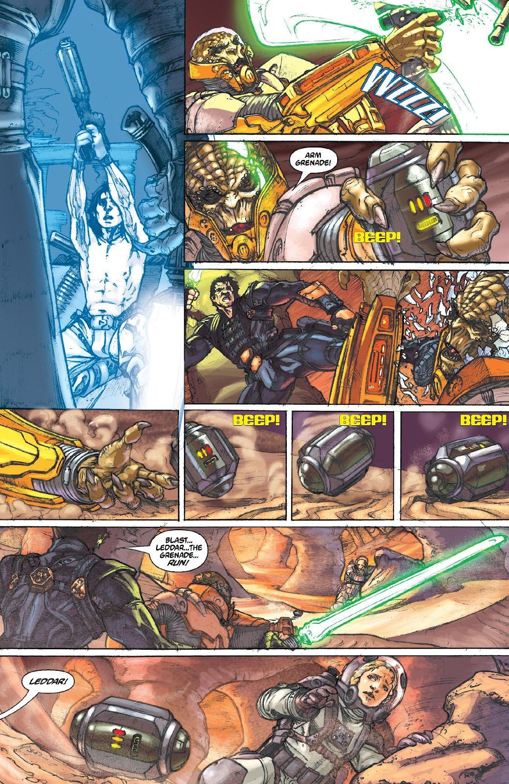 Read online Star Wars Legends Epic Collection: The Menace Revealed comic -  Issue # TPB (Part 5) - 2