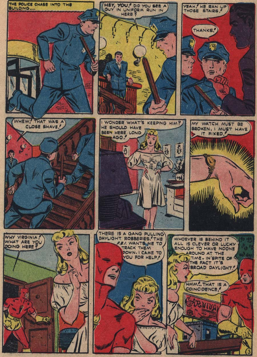 Blue Ribbon Comics (1939) issue 18 - Page 45