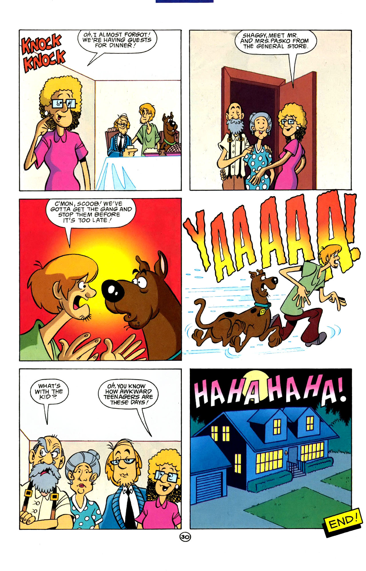 Read online Scooby-Doo (1997) comic -  Issue #4 - 23