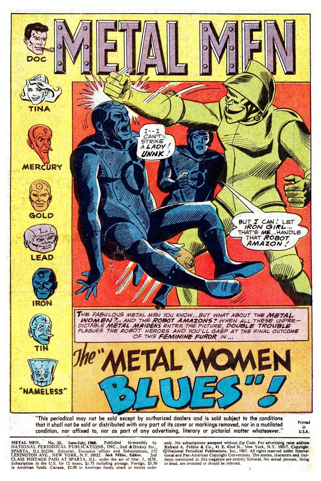 Metal Men (1963) issue 32 - Page 3